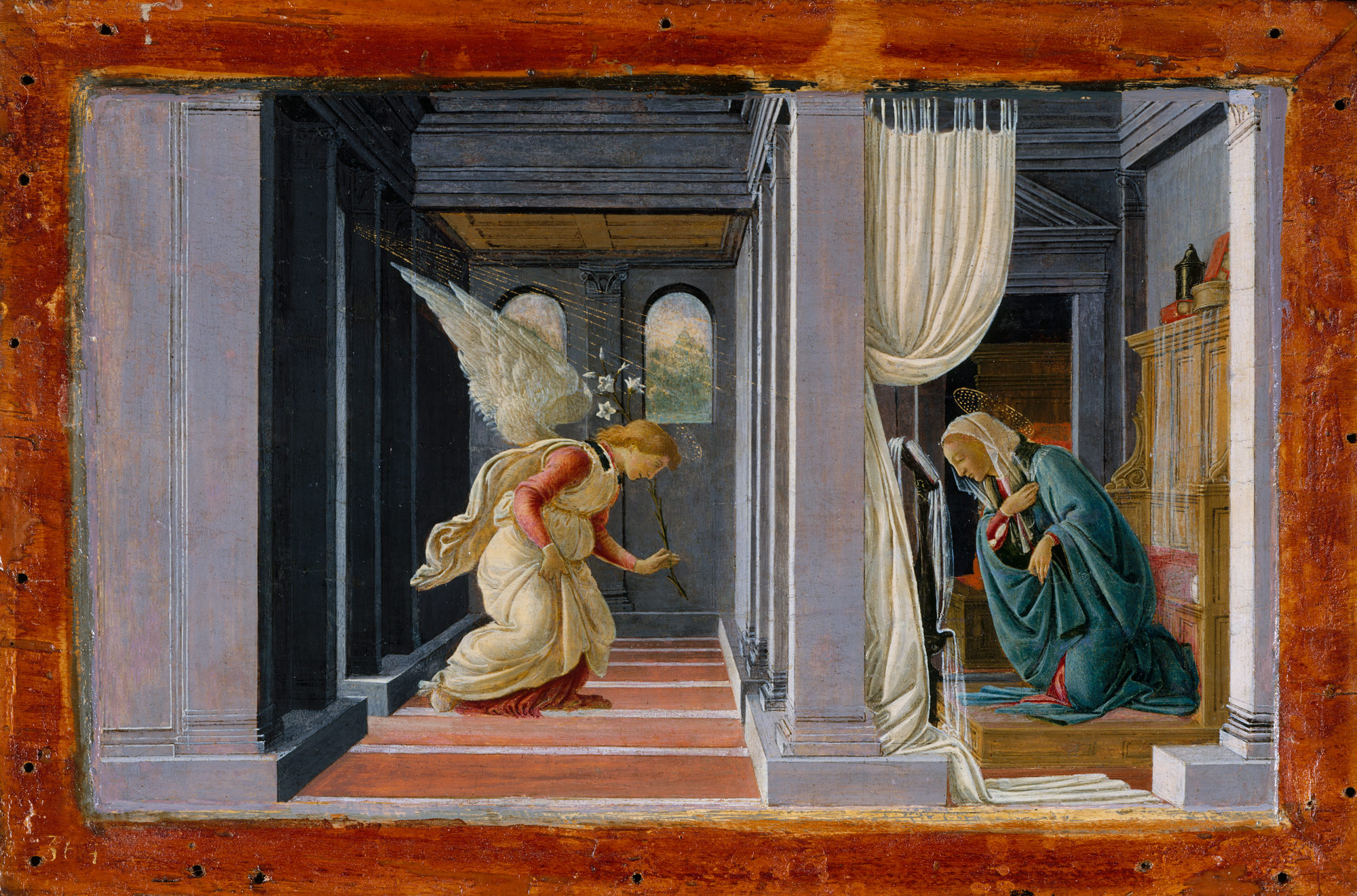 painting the life of christ in medieval and renaissance the annunciation