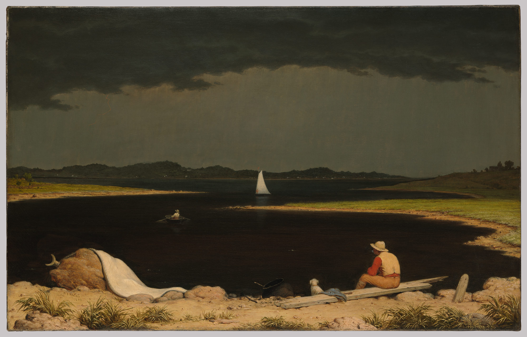 the hudson river school essay heilbrunn timeline of art   approaching thunder storm