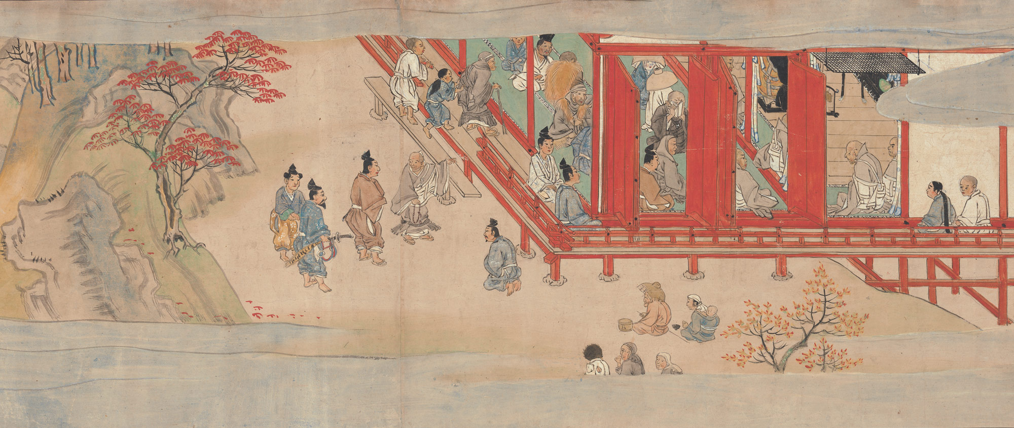 Illustrated Legends of the Jinōji Temple (Jinōji Engi Emaki)