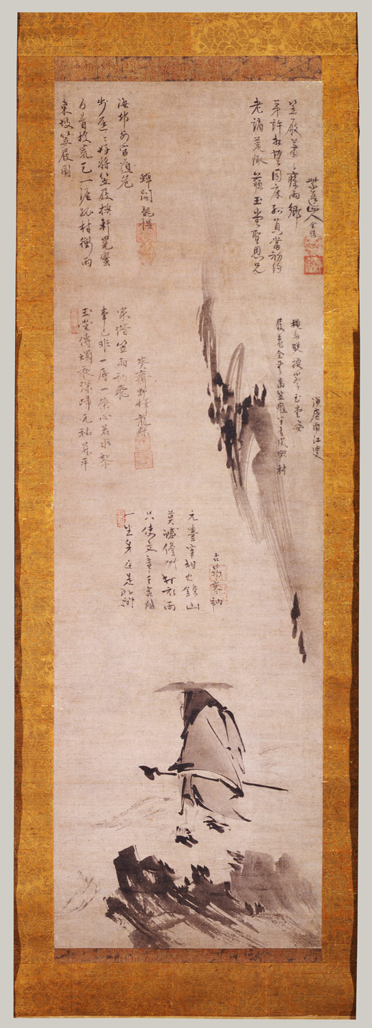Su Shi (Dongpo) in a Straw Hat and Sandals