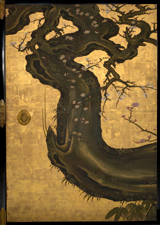 Old Plum Kano Sansetsu 1975 268 48 Work Of Art