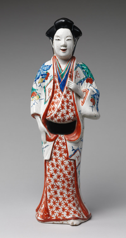 Edo period japanese porcelain essay heilbrunn timeline of art figure of a standing beauty reviewsmspy