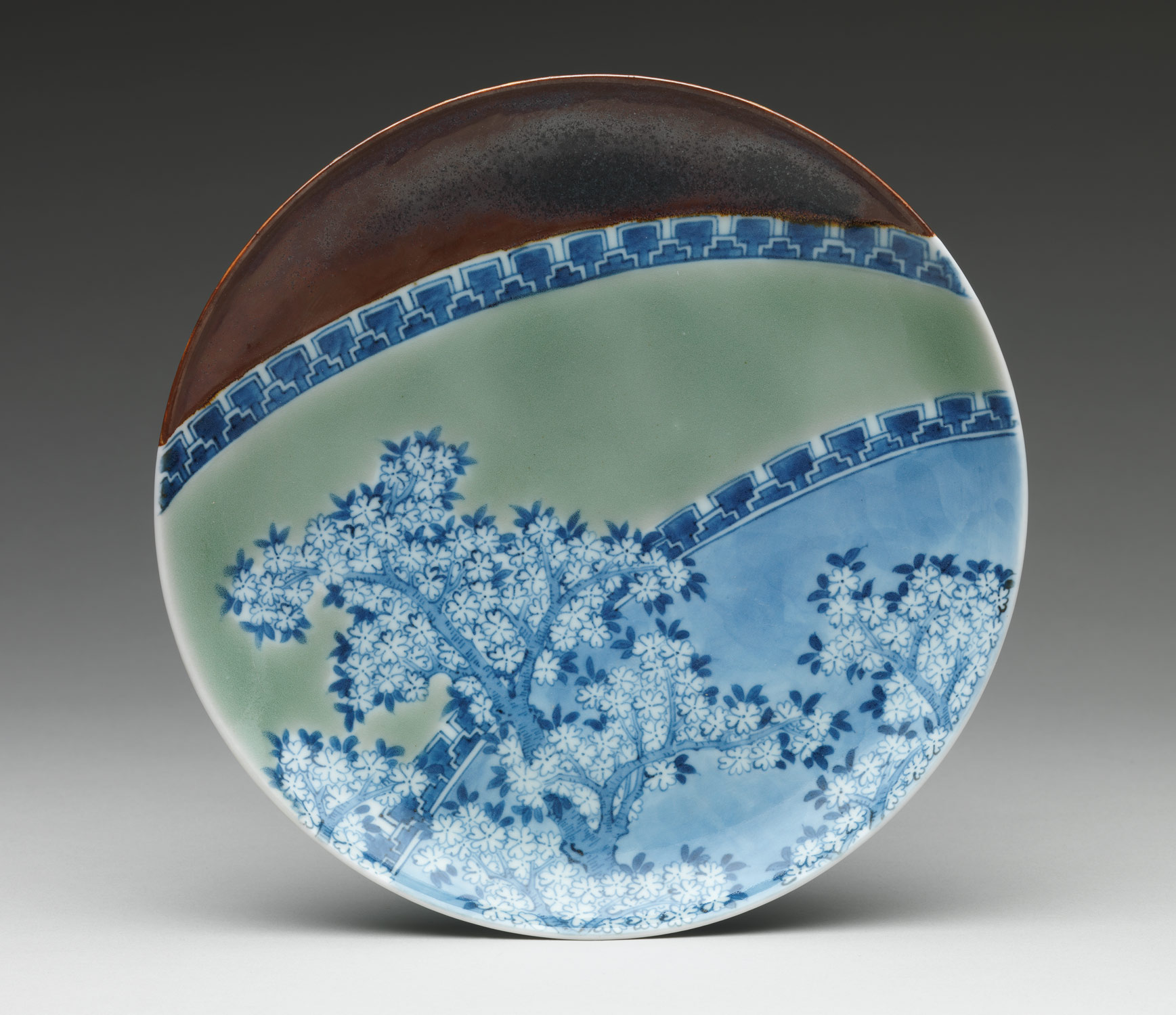 ... Dish with Cherry Blossoms and Textile Curtains ... & Edo-Period Japanese Porcelain | Essay | Heilbrunn Timeline of Art ...