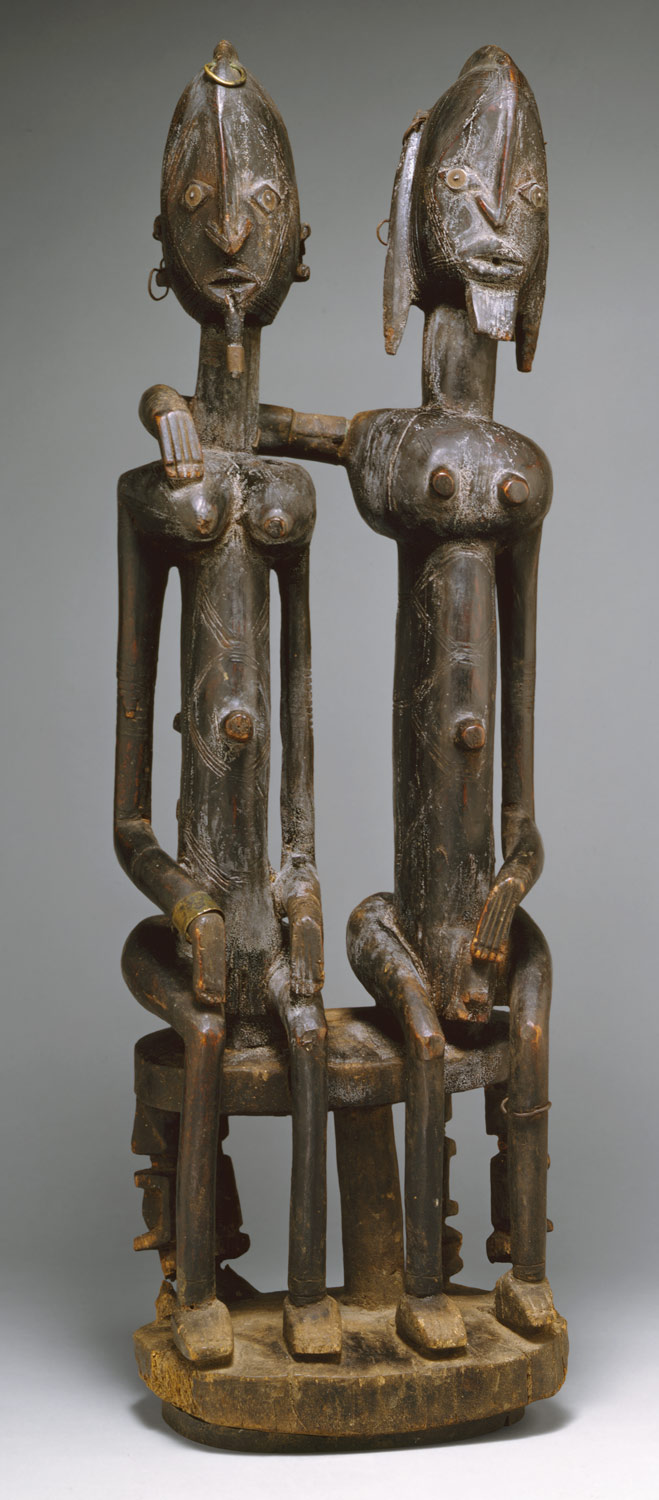 Figure: Seated Couple