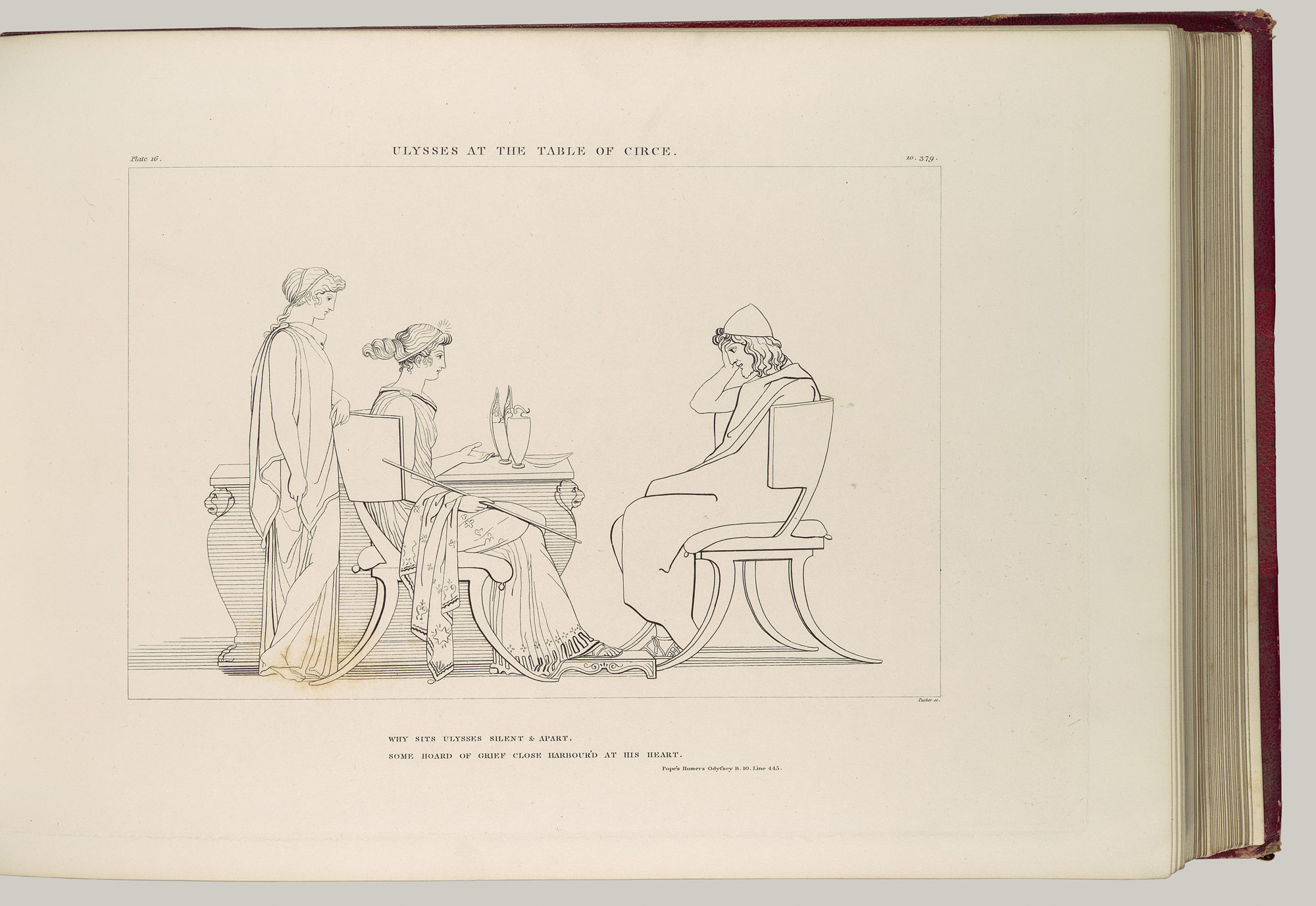 Ulysses at the Table of Circe (The Odyssey of Homer)