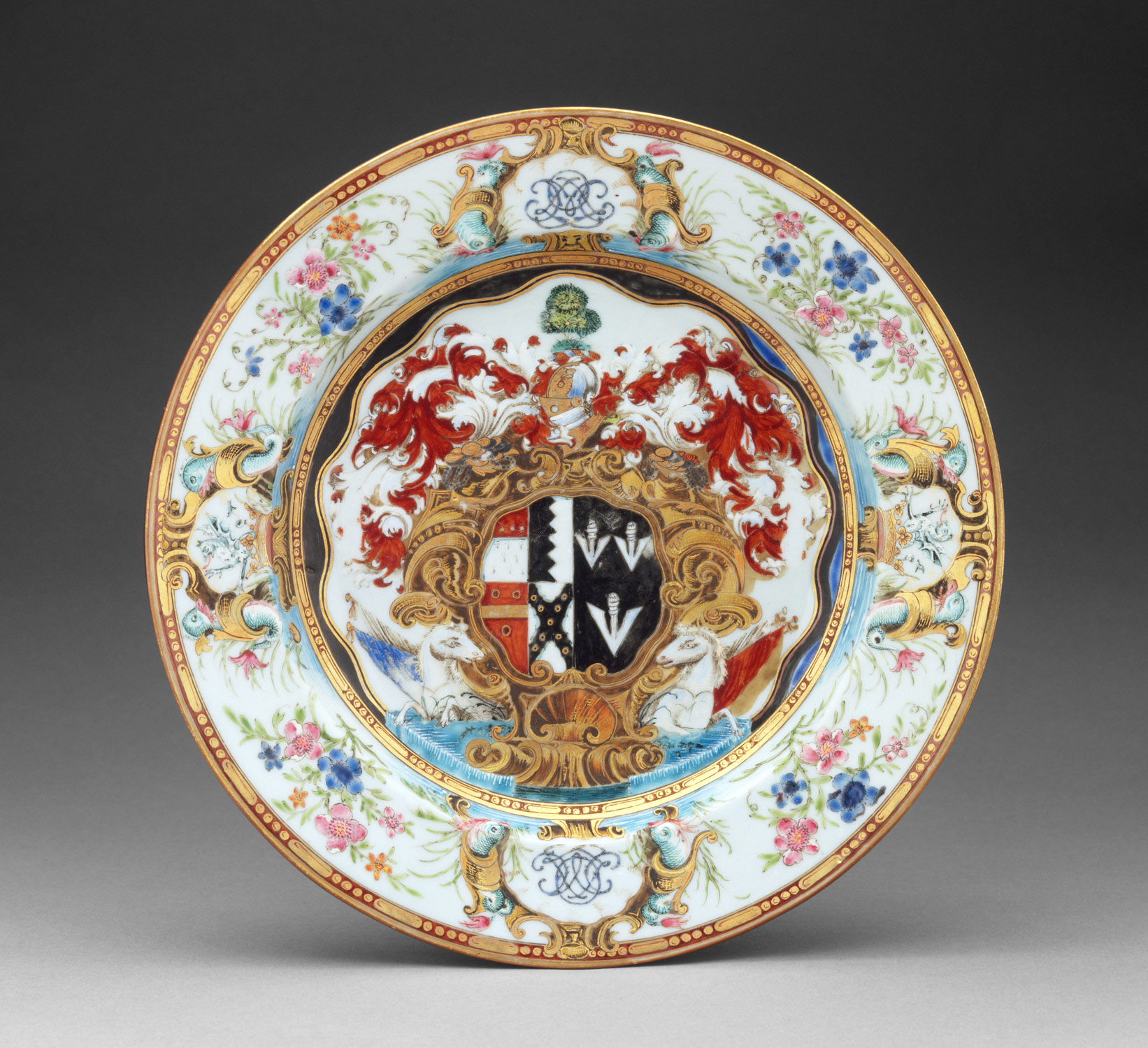 ... Plate Plate ... & East and West: Chinese Export Porcelain | Essay | Heilbrunn Timeline ...
