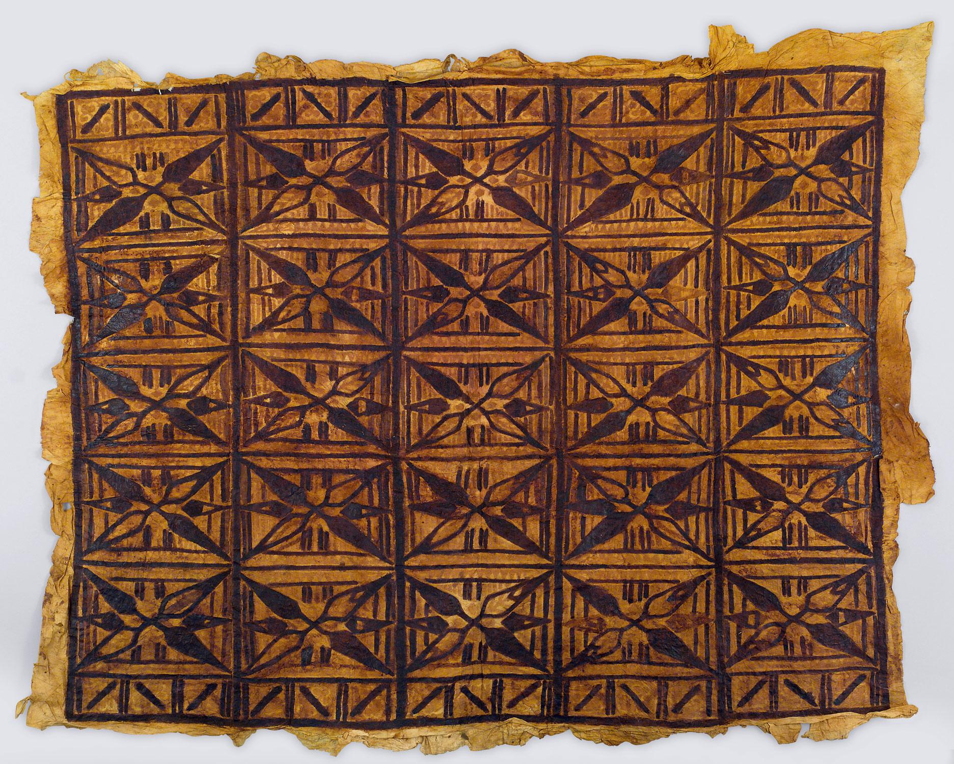 Form Art Term : Barkcloth panel siapo work of art heilbrunn timeline