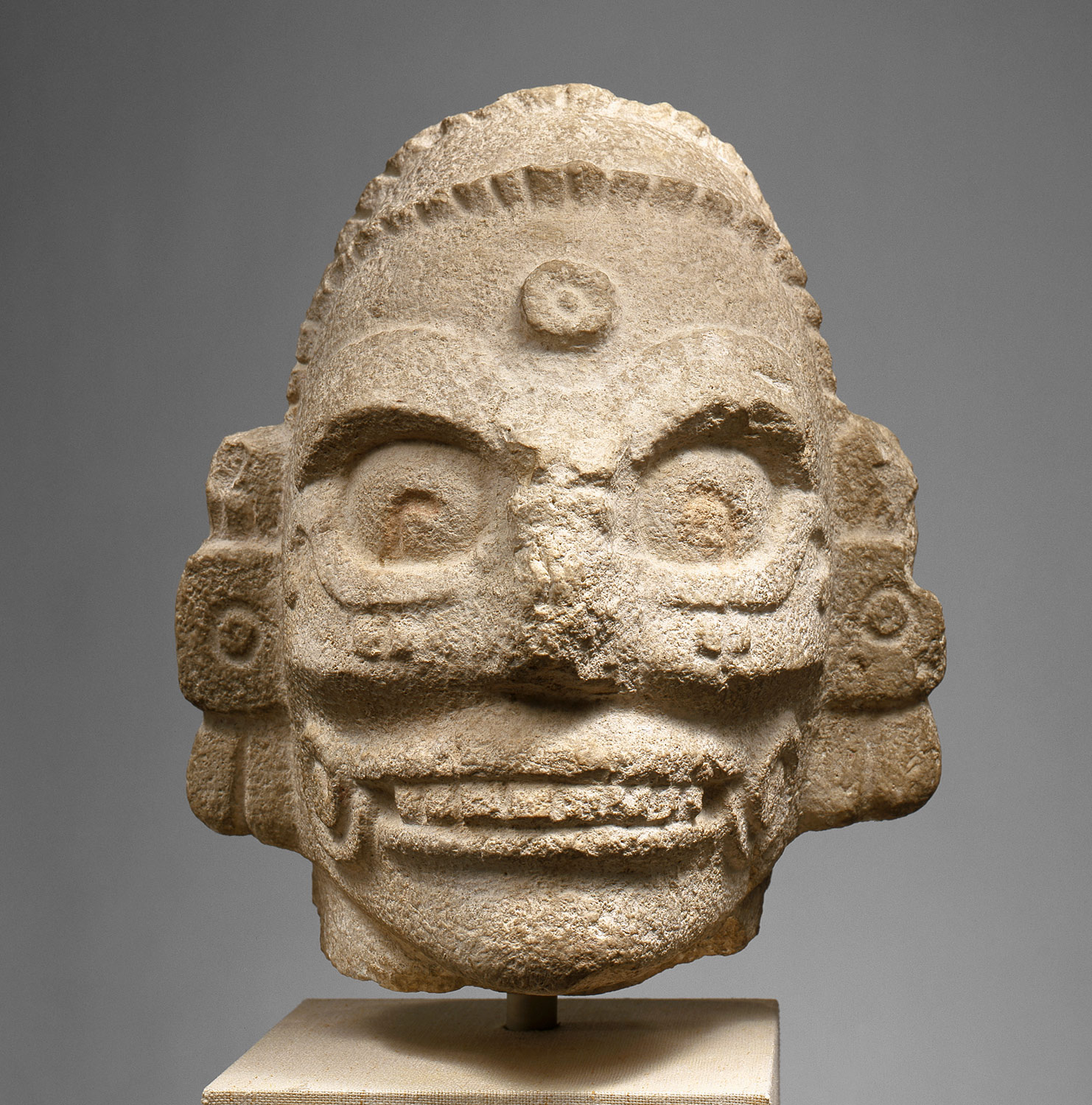 Head of a Rain God