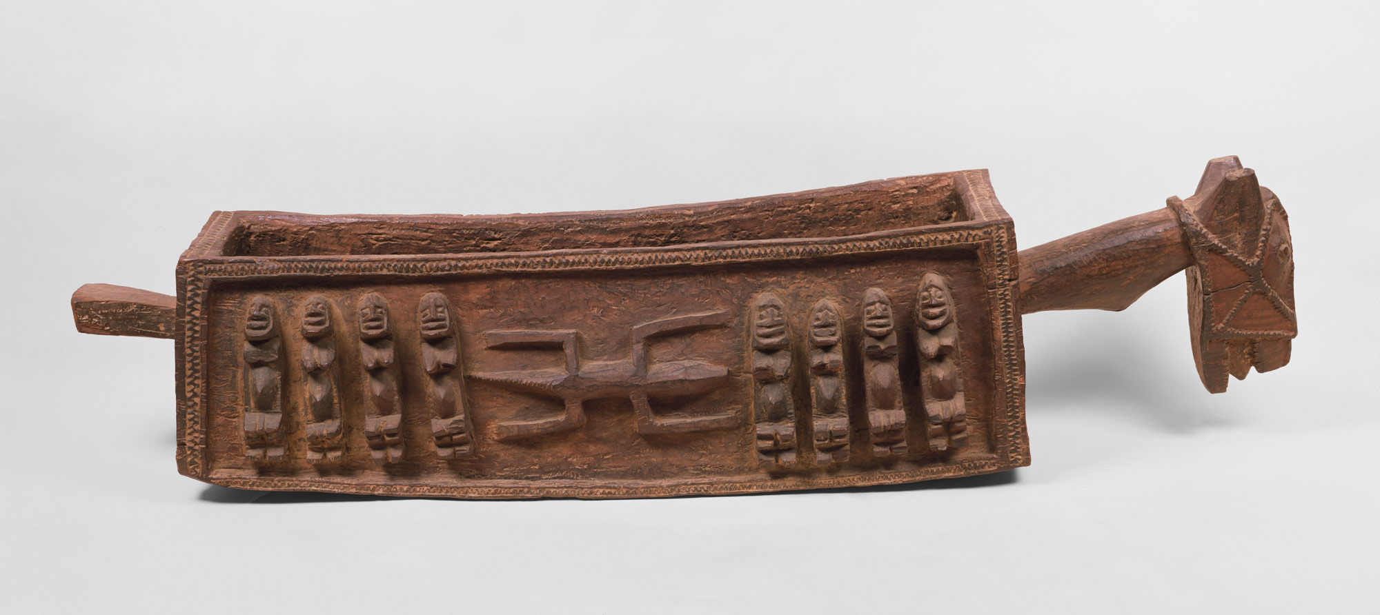 Ritual Vessel: Horse with Figures (Aduno Koro)