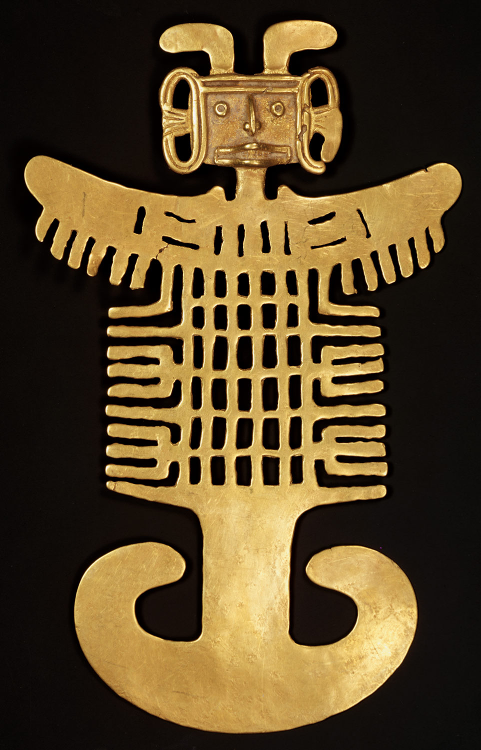 Costumed Figure Pendant