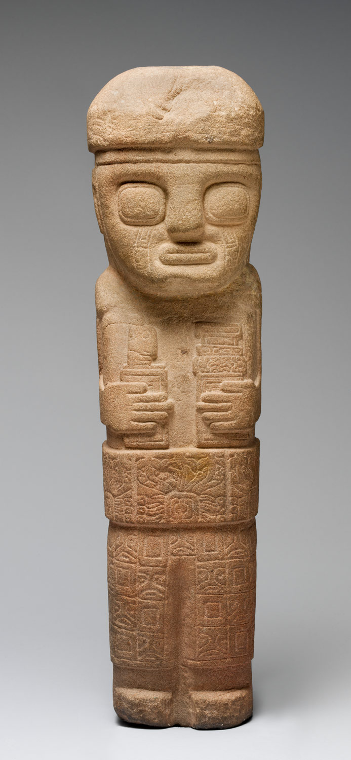 Figure with Ceremonial Objects