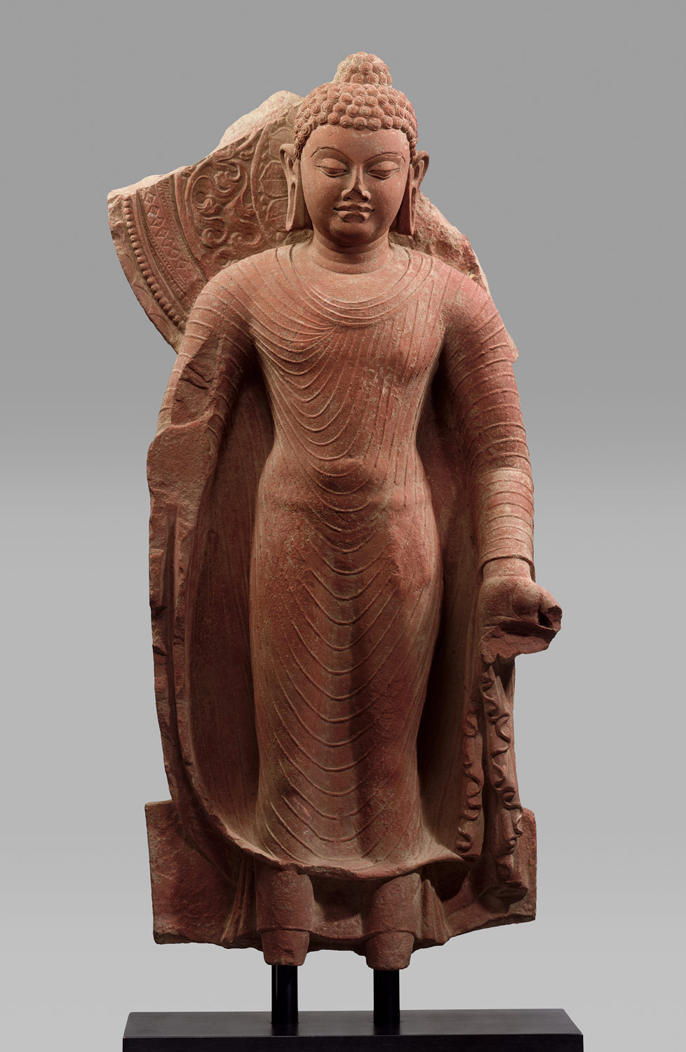 Standing Buddha Offering Protection