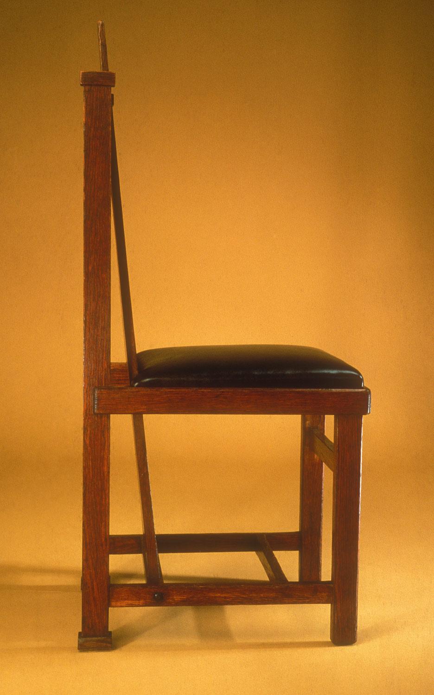 Side Chair Frank Lloyd Wright 1981 437 Work Of Art Heilbrunn