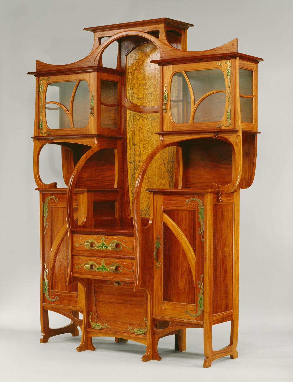 Cabinet-vitrine | Gustave Serrurier-Bovy | 1981.512.4 | Work of ...