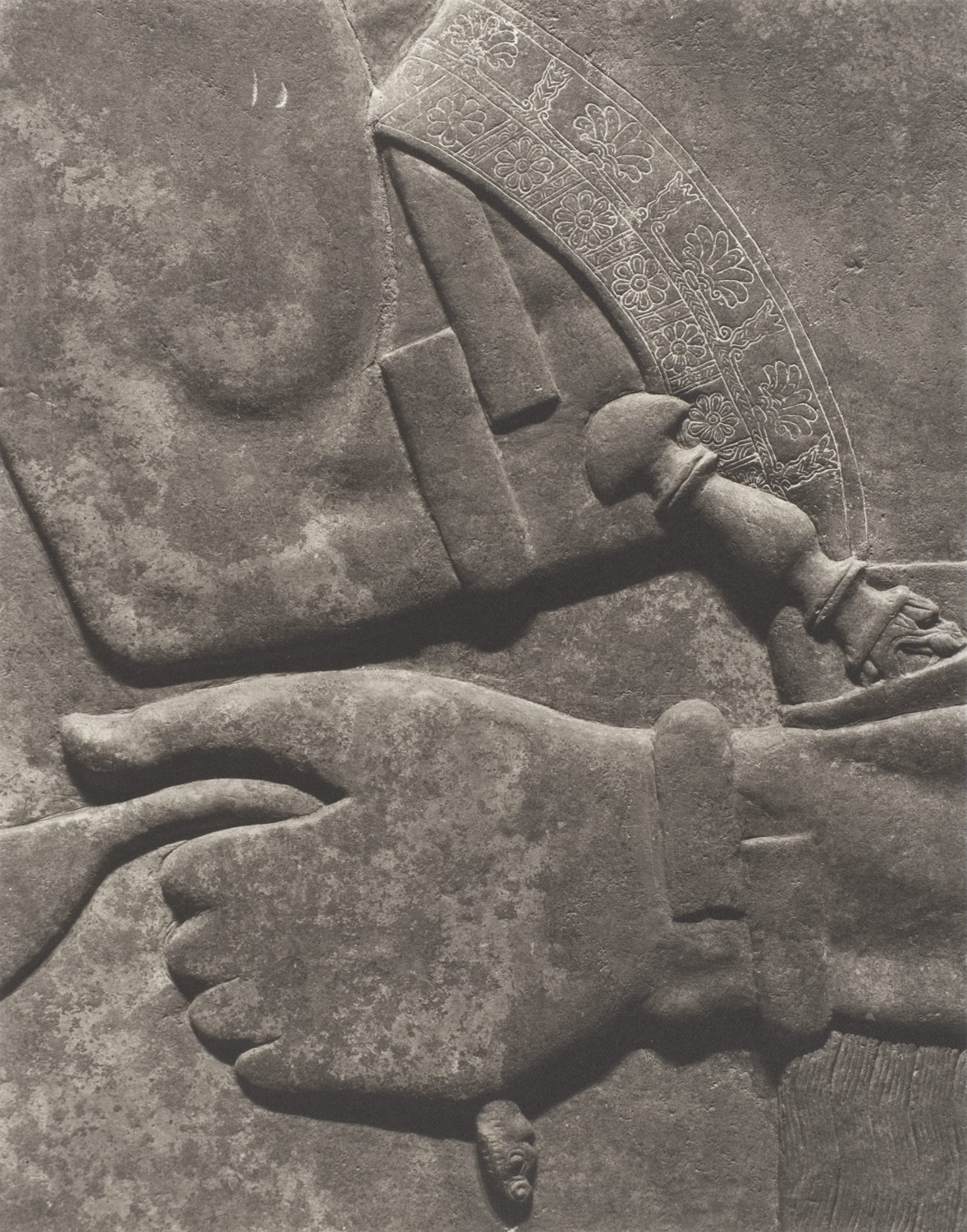 Ashurnasirpal II, King of Assyria, and Cupbearer