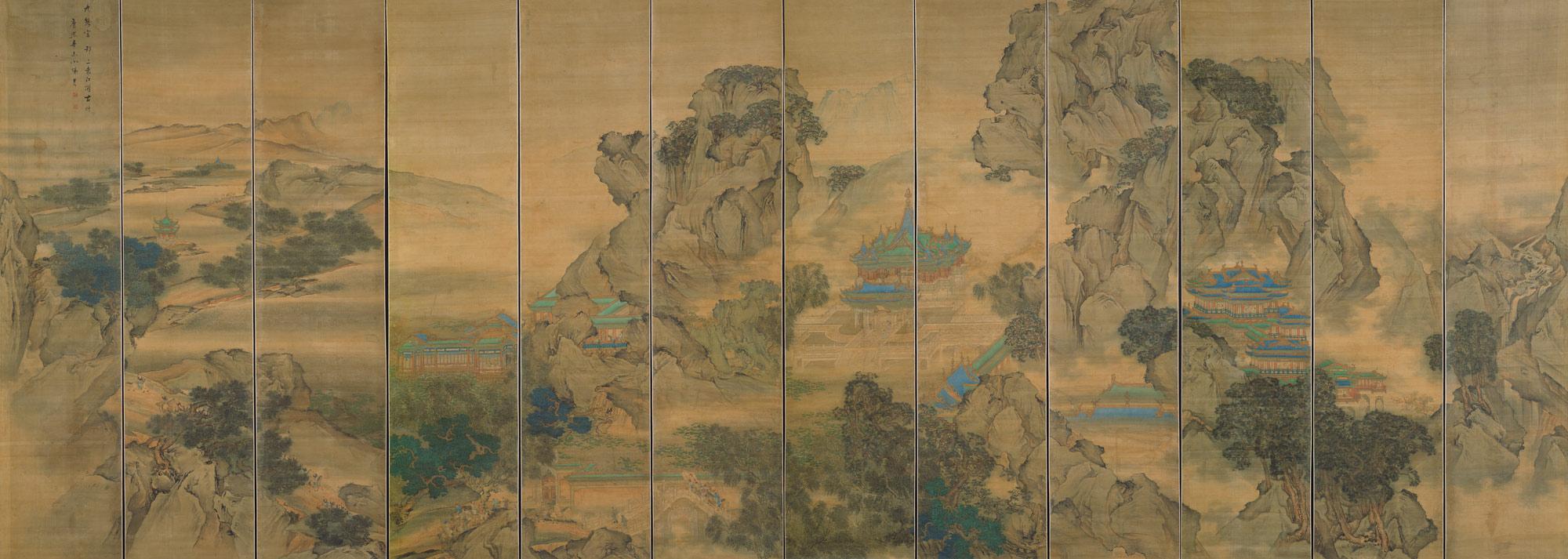 the palace of nine perfections yuan jiang 1982125