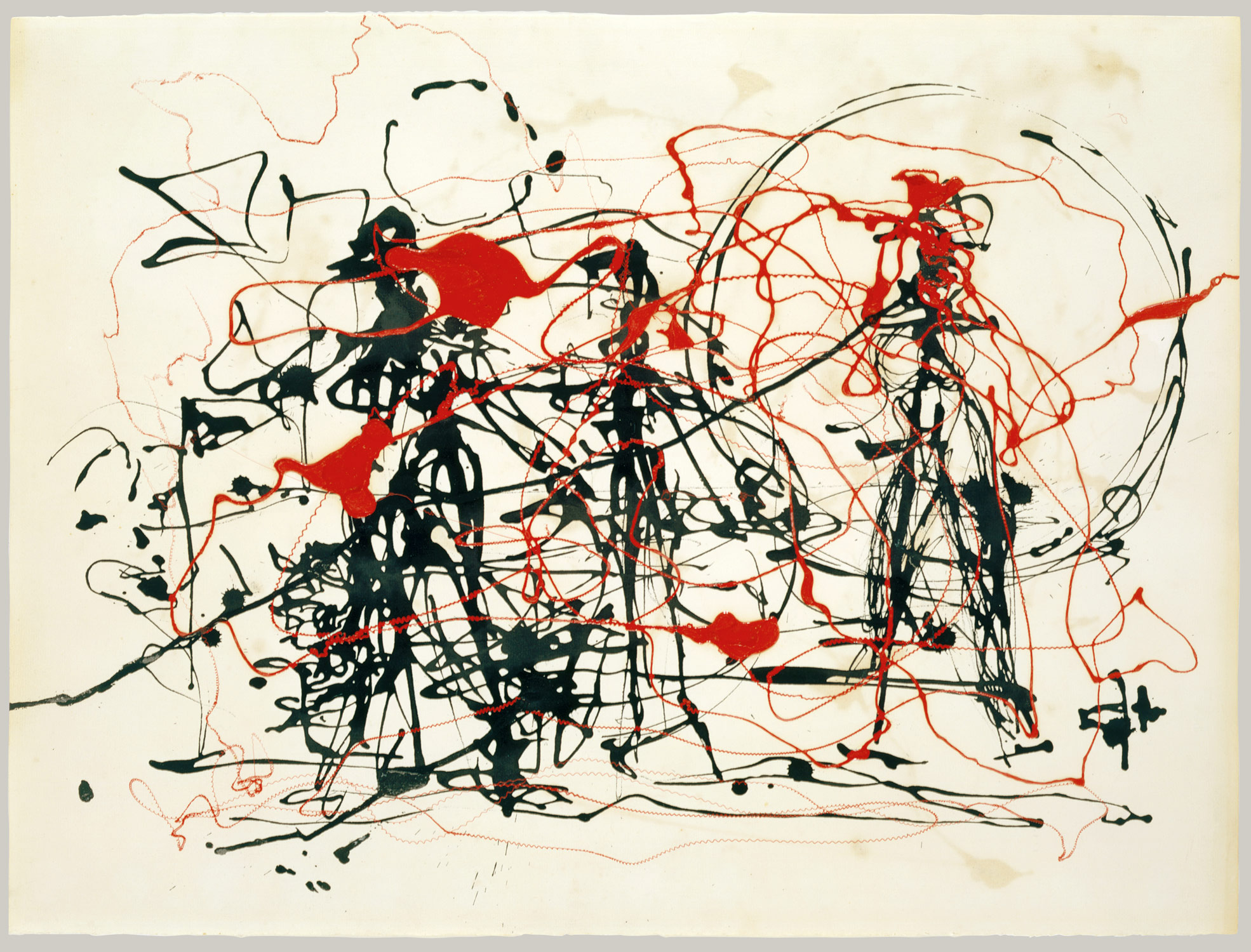 untitled jackson pollock work of art heilbrunn  untitled