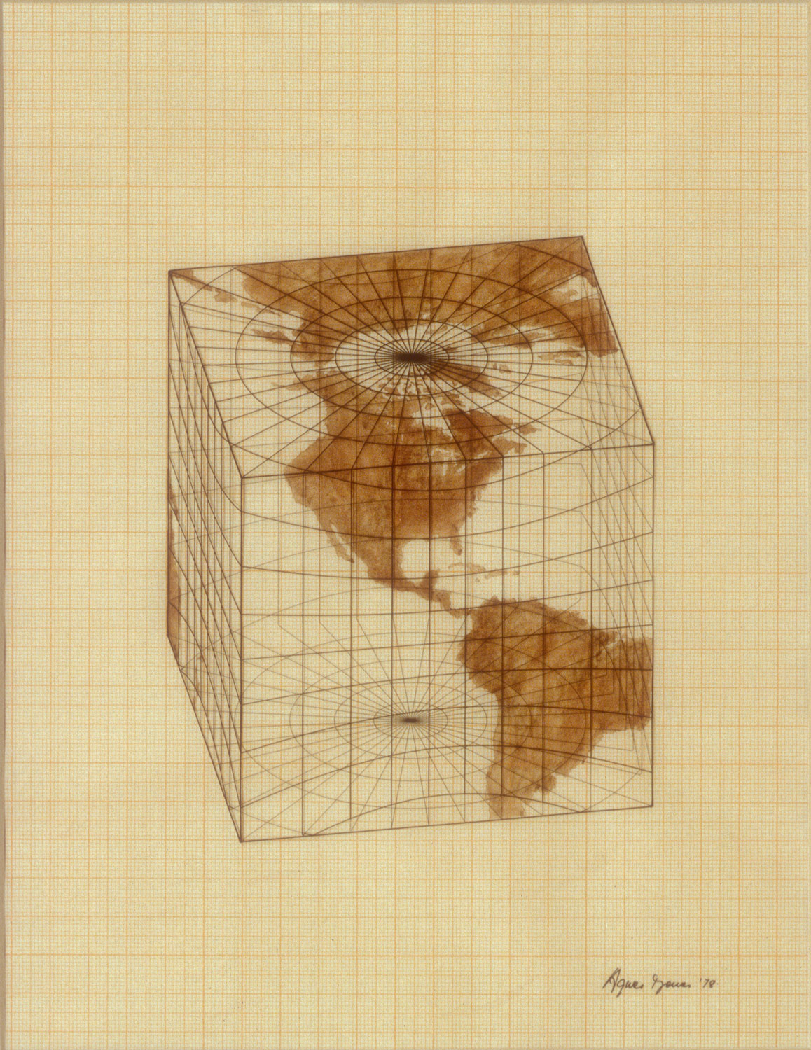 Study of Distortions; Isometric Systems in Isotropic Space-Map Projections: The Cube