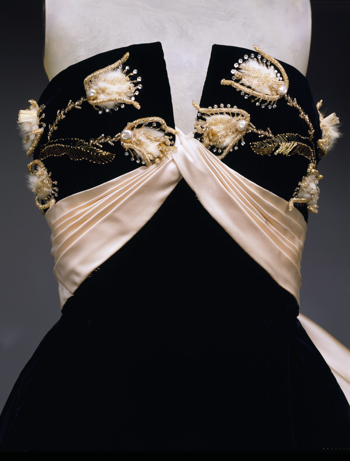 Ball gown | House of Jacques Fath, Jacques Fath | 1984.606.3a,b ...