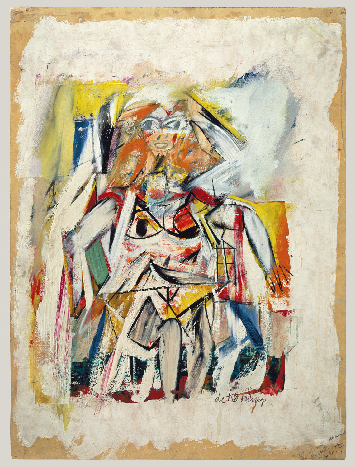 w willem de kooning work of art heilbrunn  w