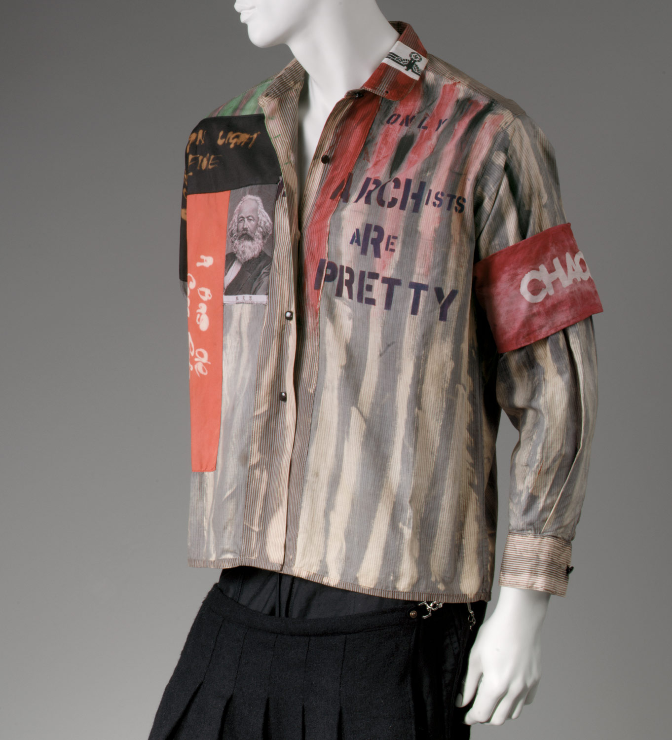 shirt vivienne westwood malcolm mclaren work of shirt
