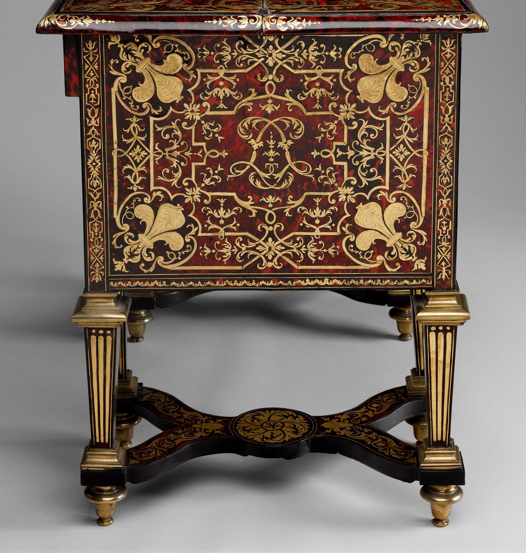 Small desk with folding top (bureau brisé) | Alexandre-Jean ...