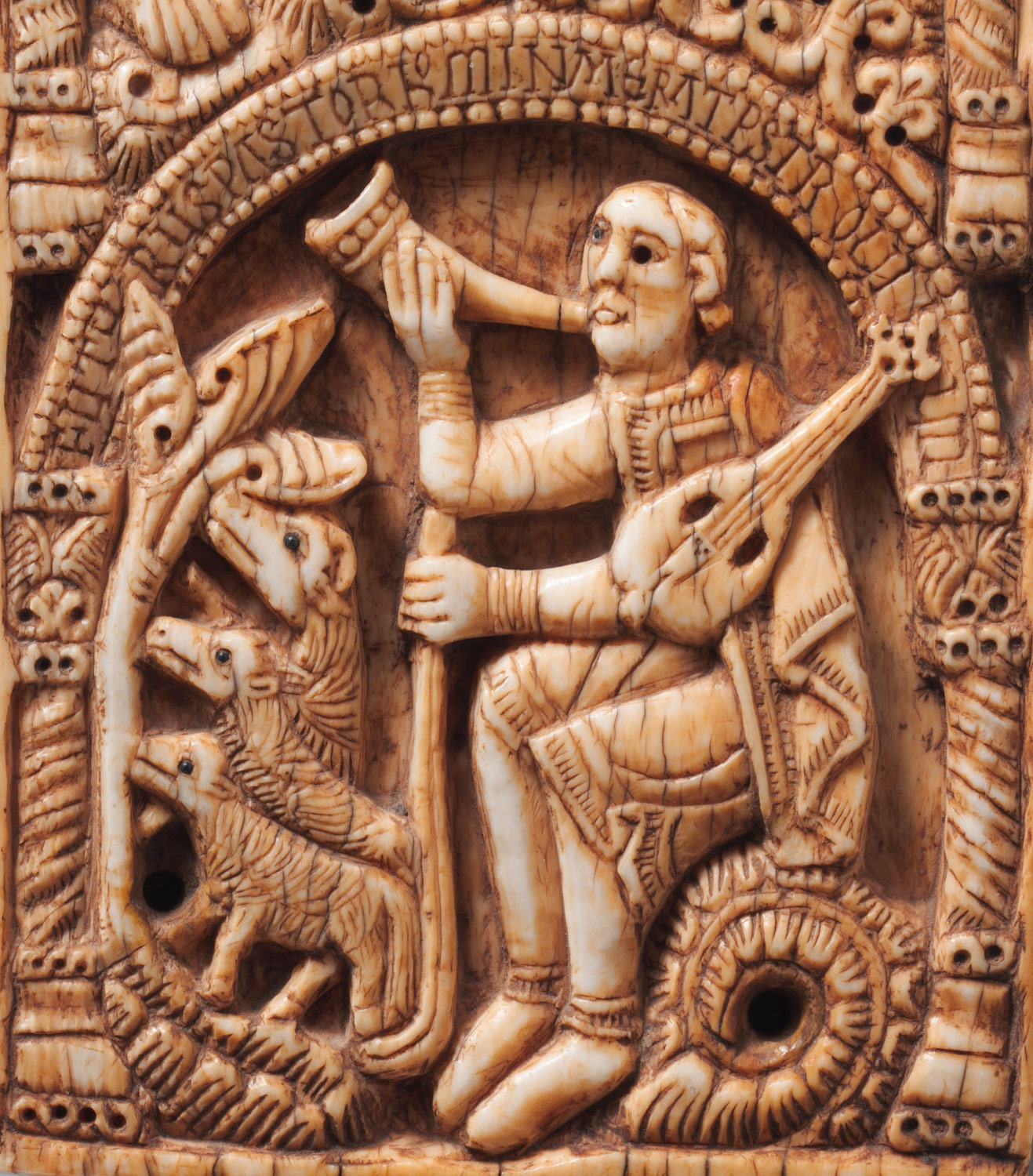 Plaque with Saint Aemilian