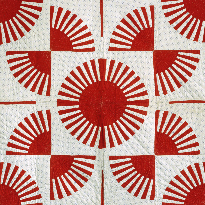 quilt  fan pattern