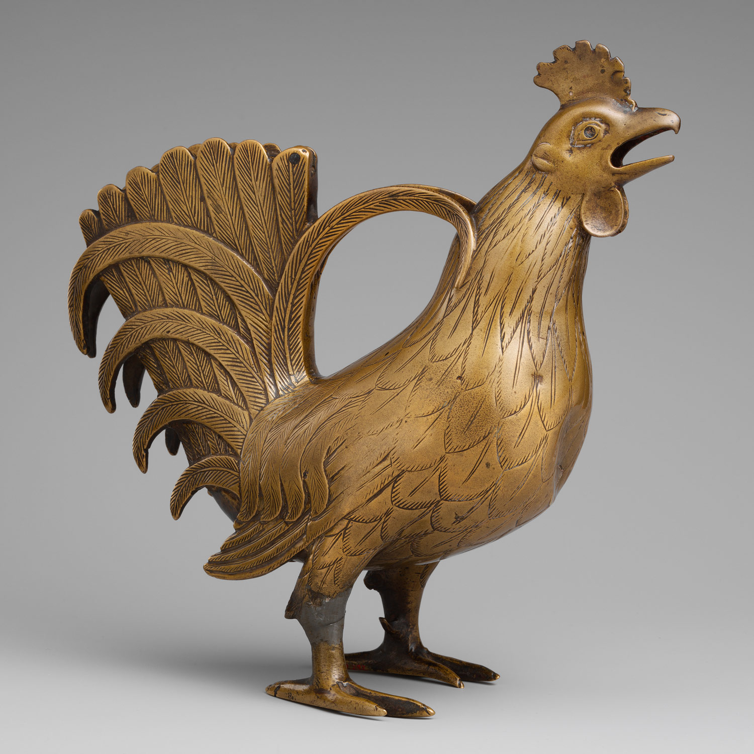 Aquamanile in the Form of a Rooster