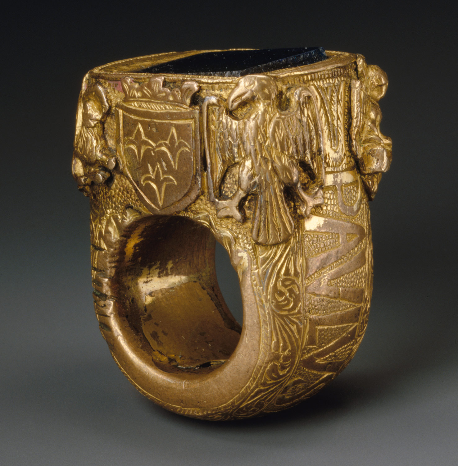 Ring with the Name of Pope Paul II (r. 1464–71)