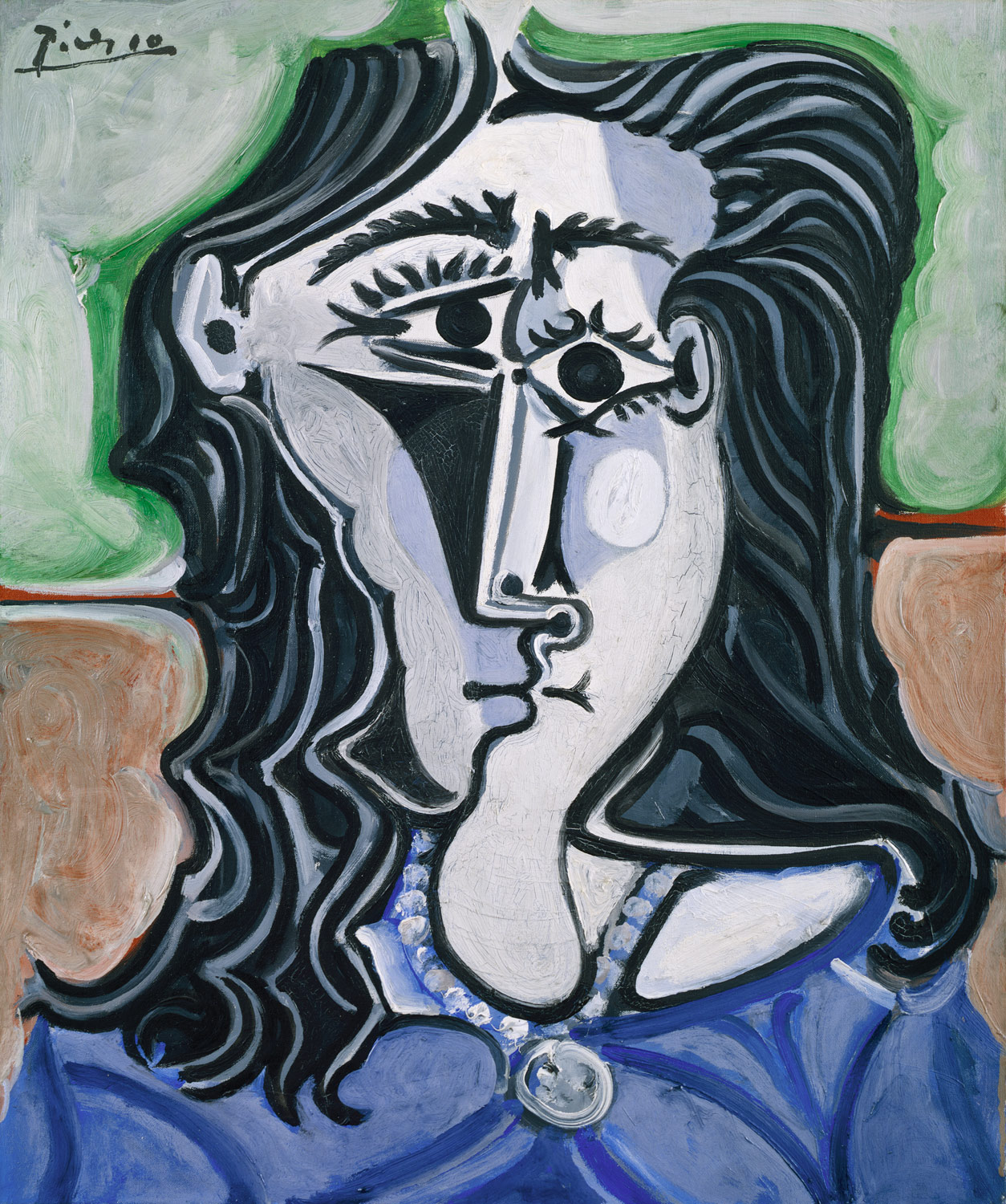 Image result for picasso head of a women