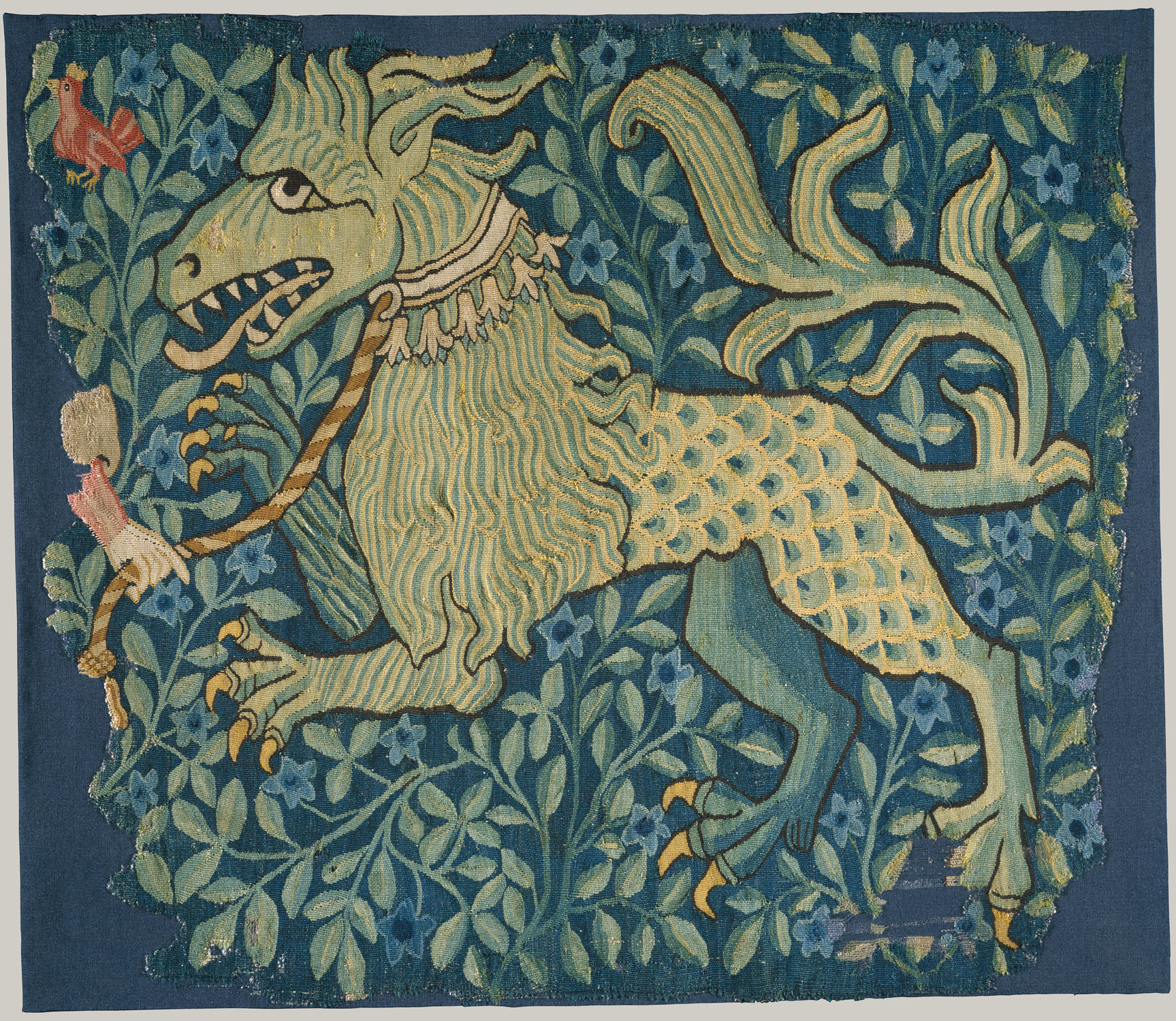 A Fabulous Beast (Fragment of a Tapestry)