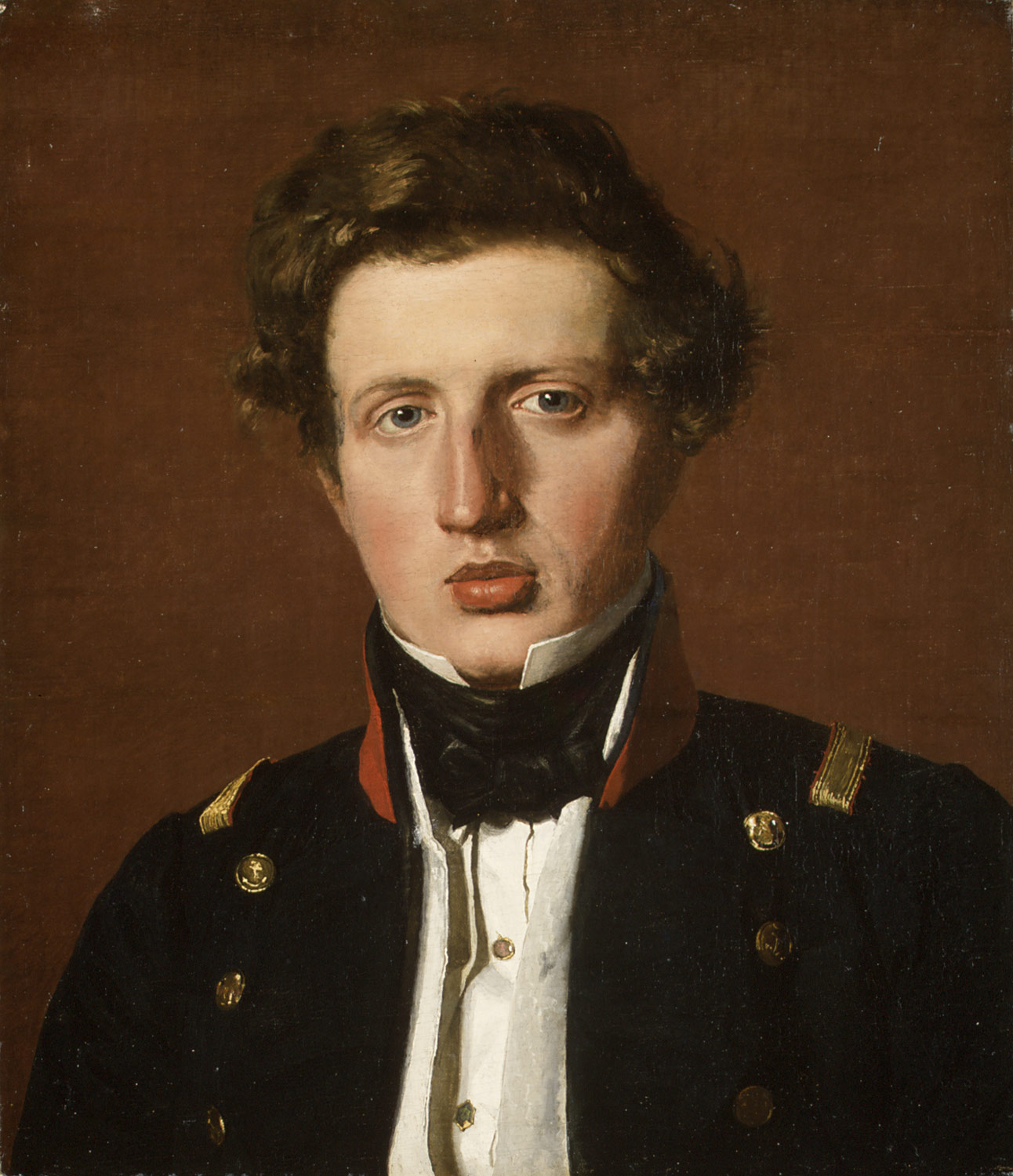 Valdemar Hjartvar Købke (1813–1893), the Artists Brother