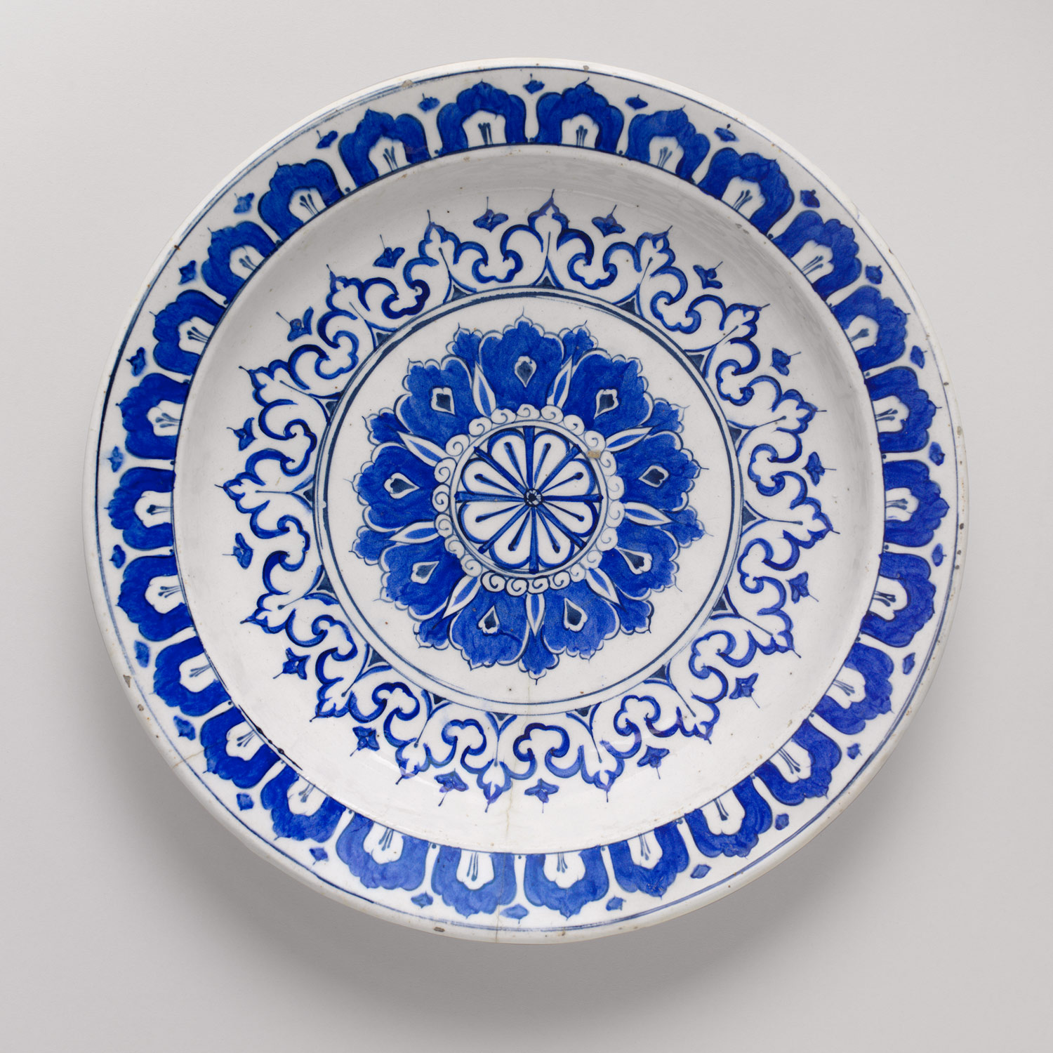 Dish with Kaleidoscope Design