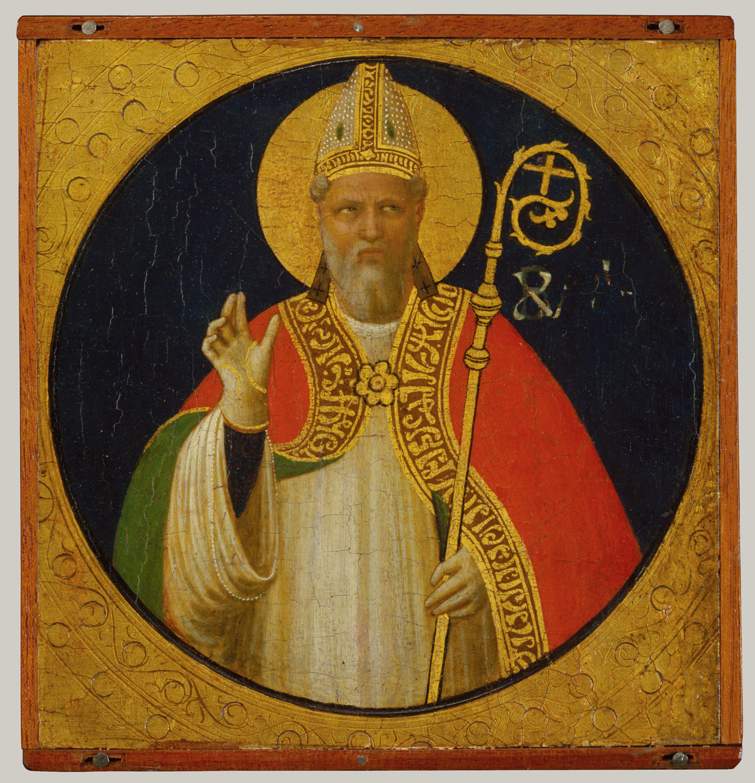 a bishop saint fra angelico guido di pietro 1991 27 2 work