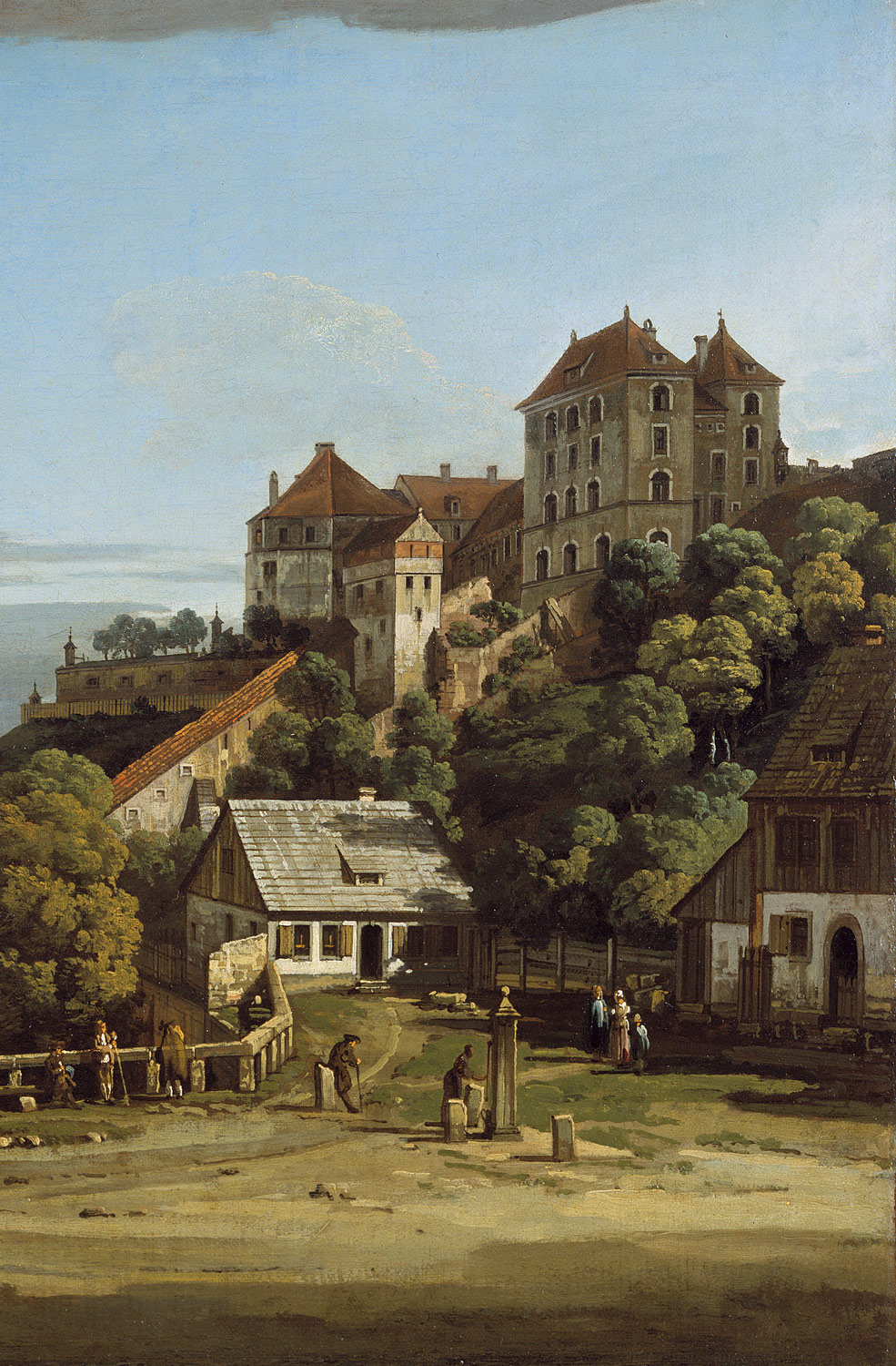 Pirna: The Obertor from the South