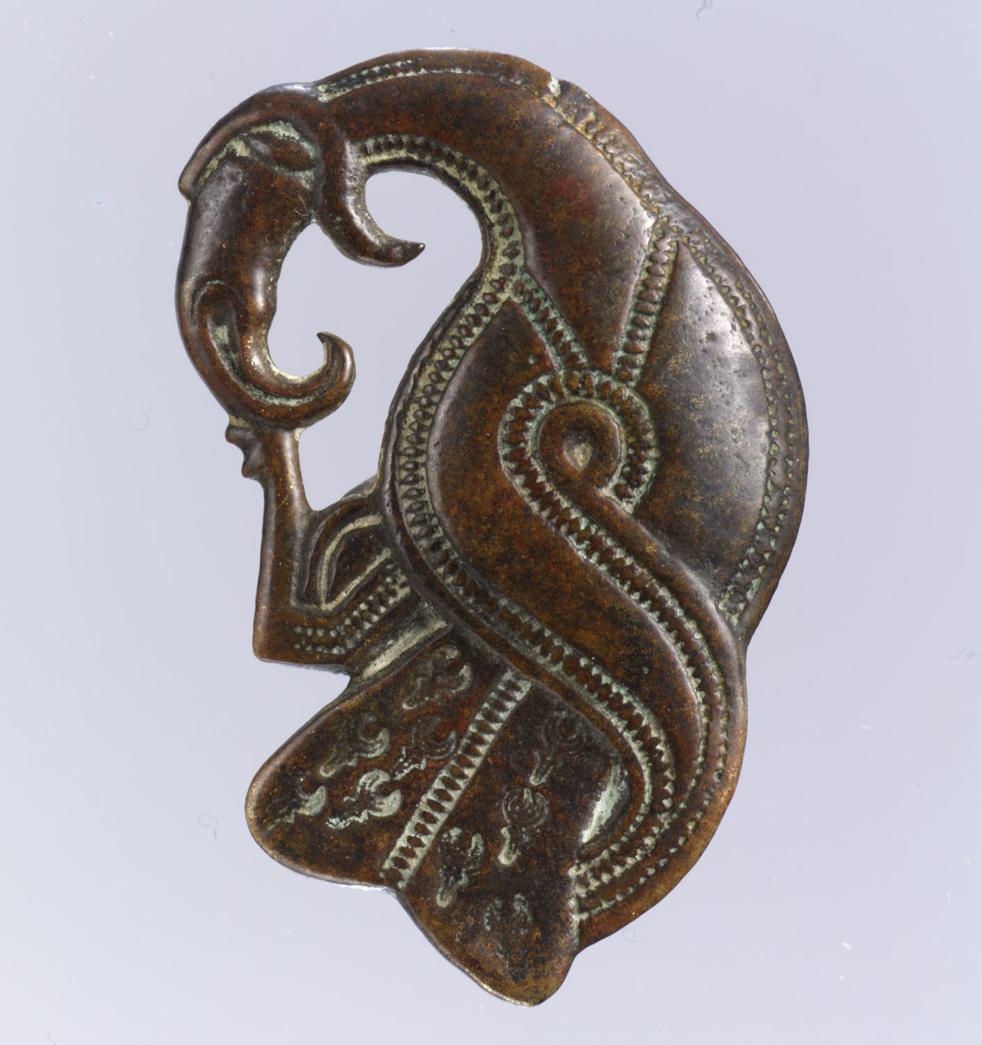 Brooch in Form of a Bird of Prey