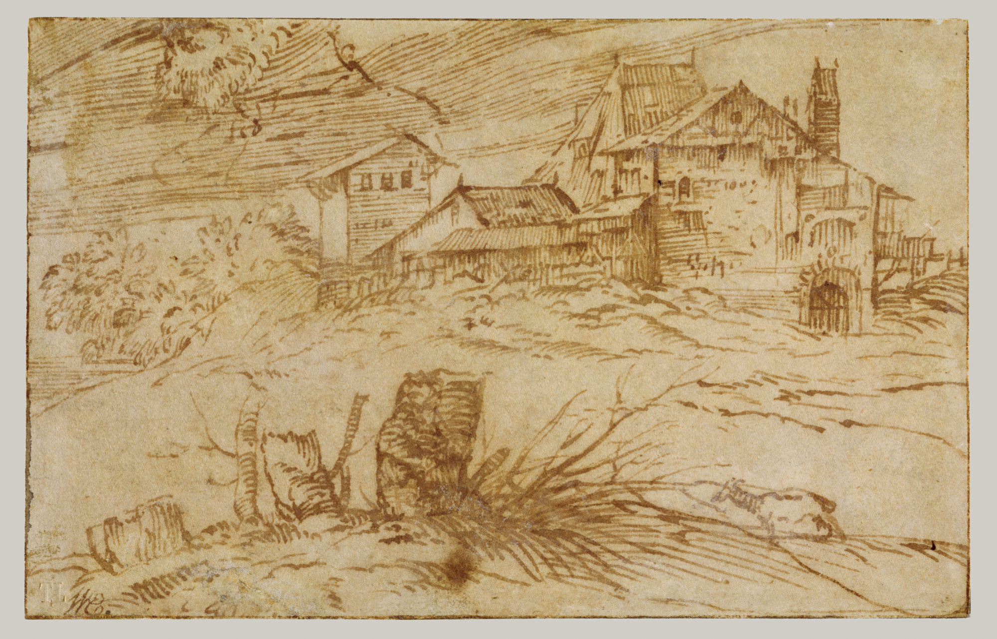 Landscape with Goat