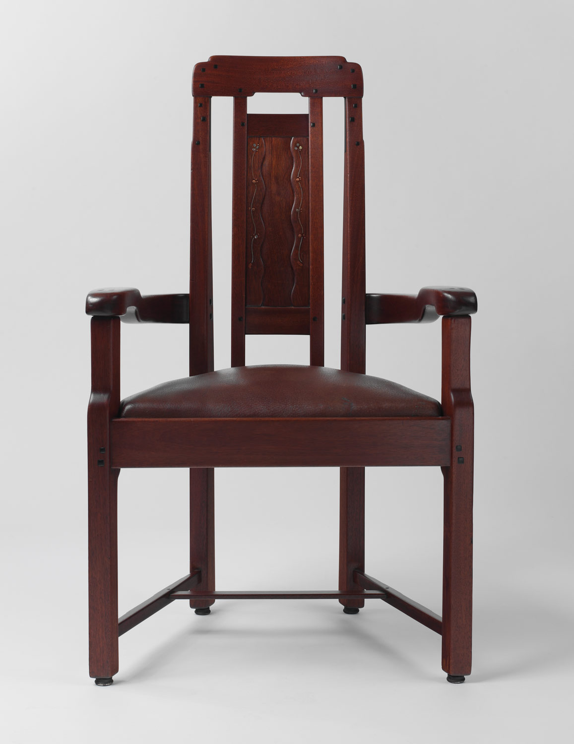 Arts and crafts furniture chair - Armchair