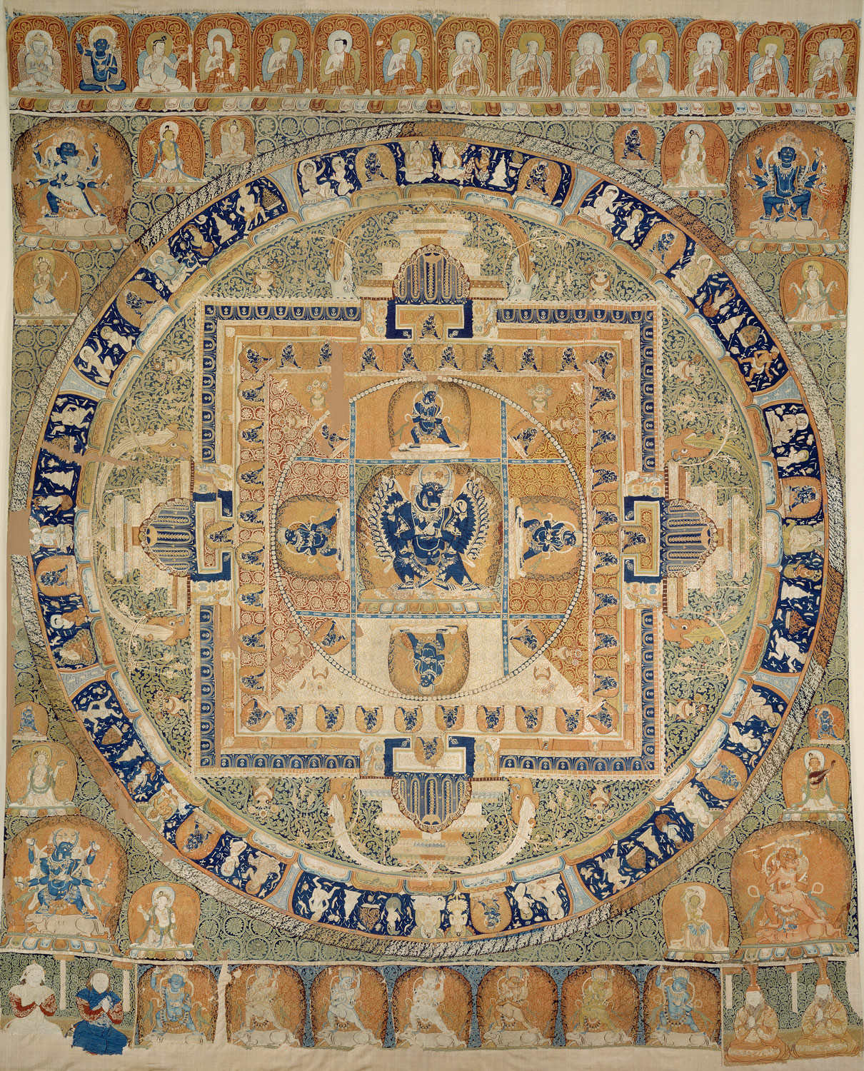 Yamantaka Mandala with imperial portraits