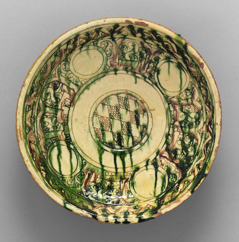 Bamiyan Ware bowl.   & Bamiyan ware