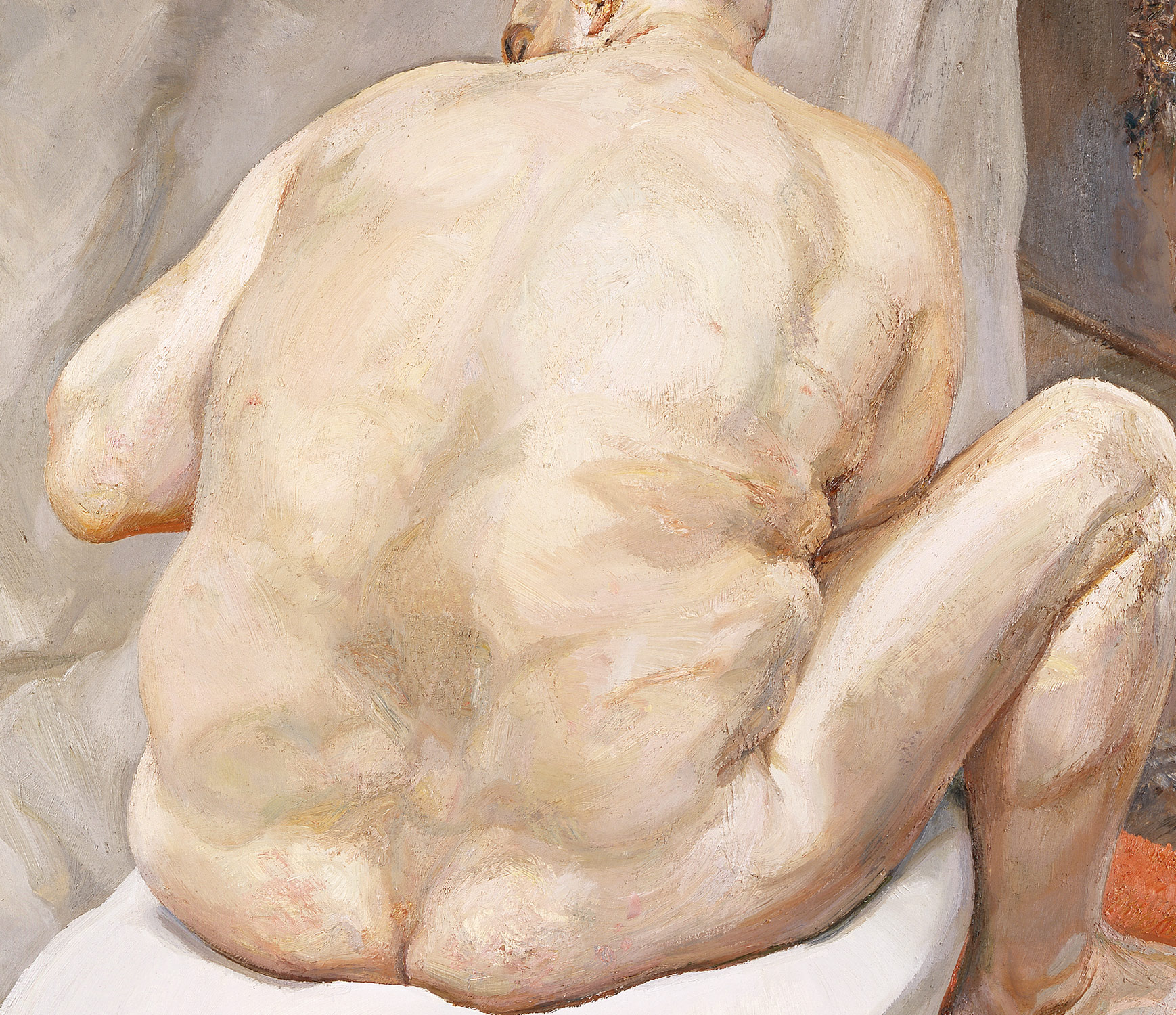 Naked Man, Back View