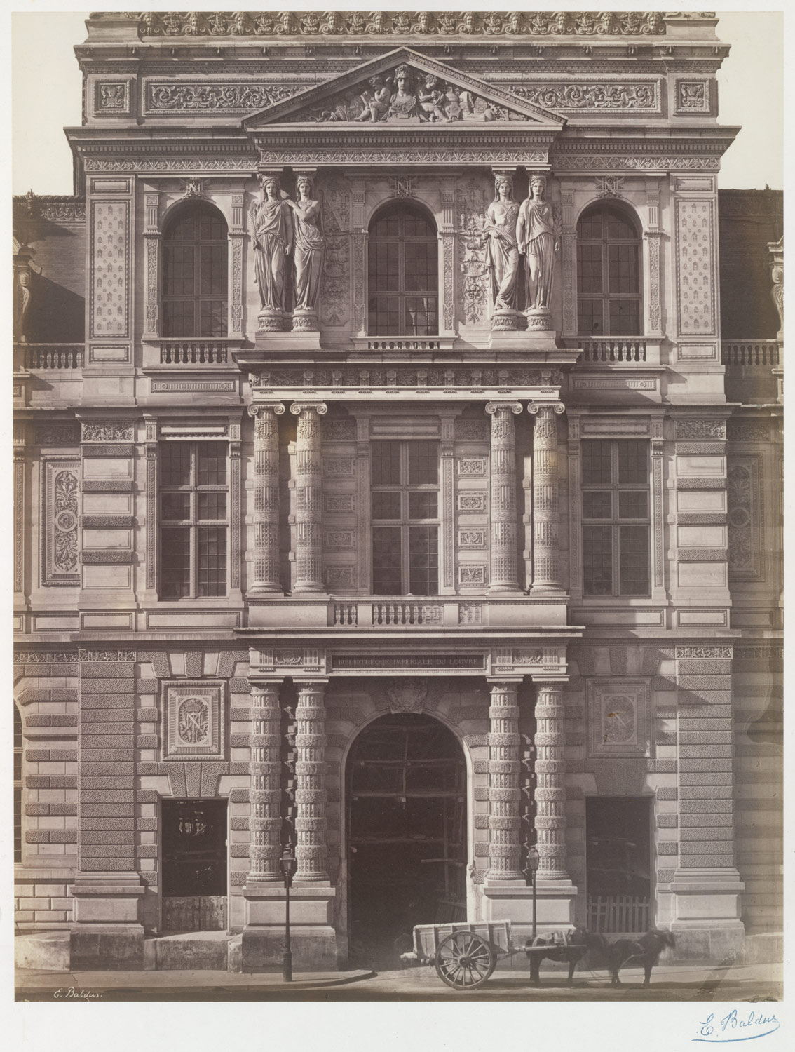[Imperial Library of the Louvre]