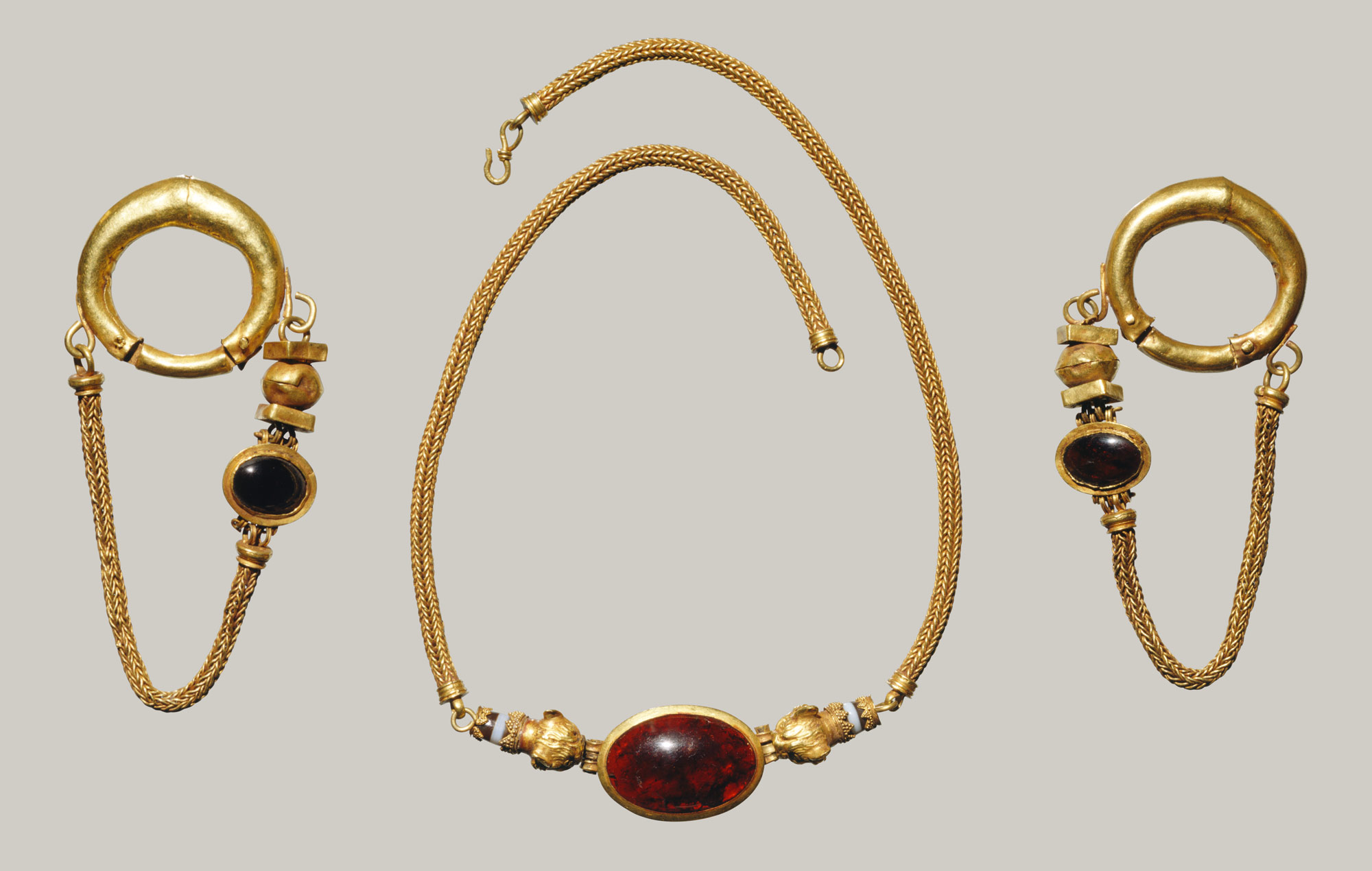 Jewellery & Watches Costume Jewellery Bracelet Earrings Necklace Mae From Vintage Jewellery