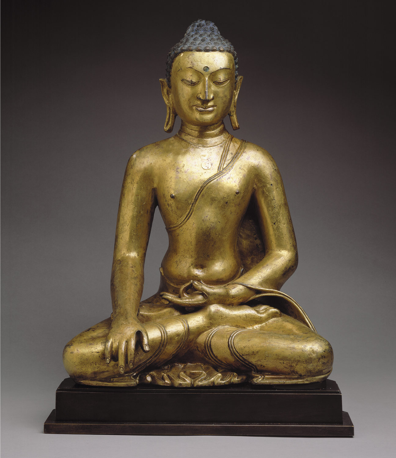 Buddha Shakyamuni or Akshobhya, the Buddha of the East