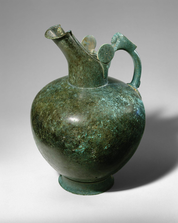 Bronze Oinochoe Work Of Art Heilbrunn Timeline Of Art