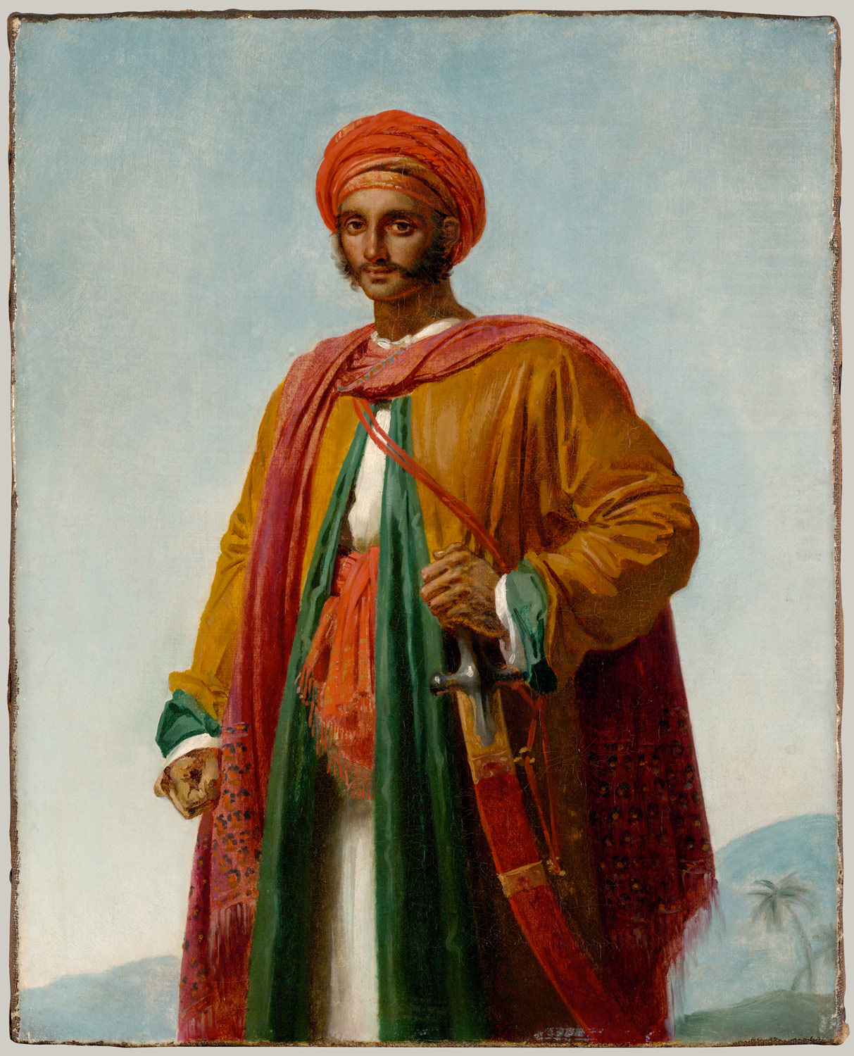 Study for Portrait of an Indian