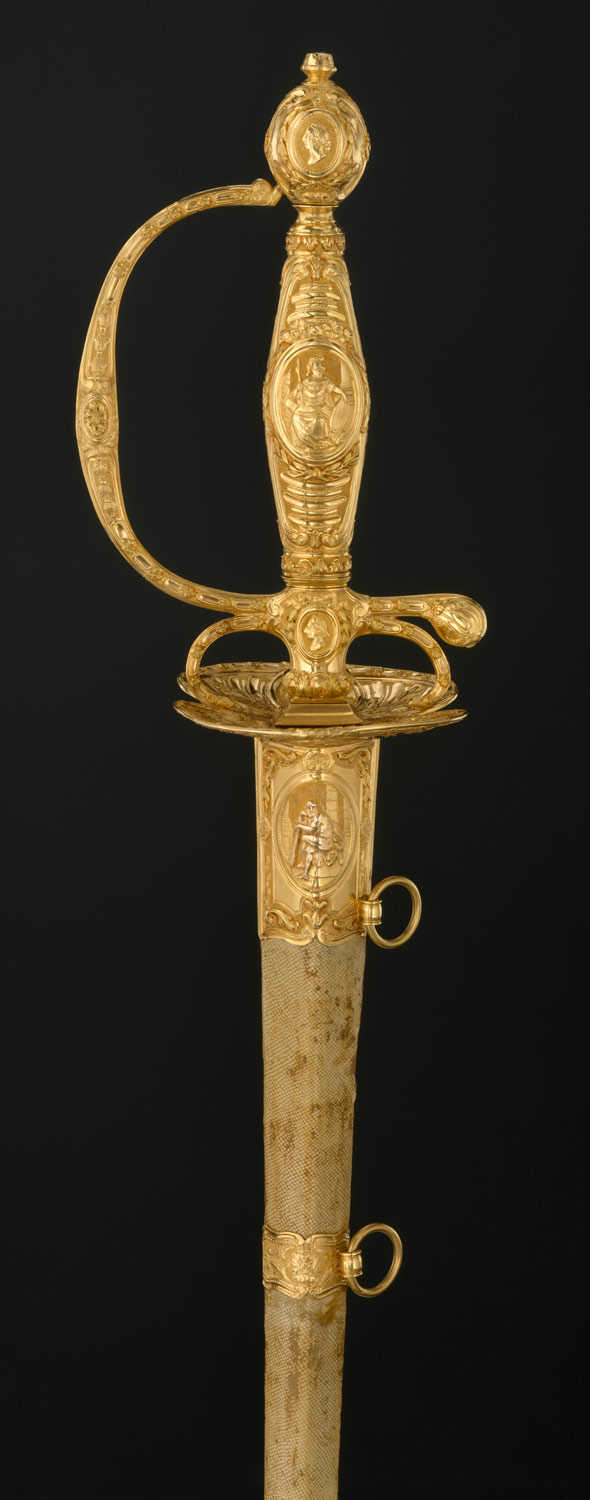 Smallsword with Scabbard