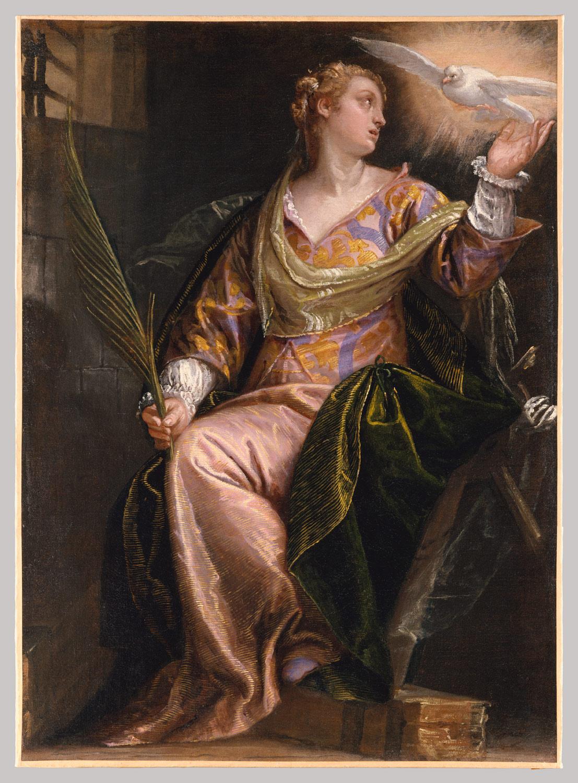 saint catherine of alexandria in prison paolo paolo caliari