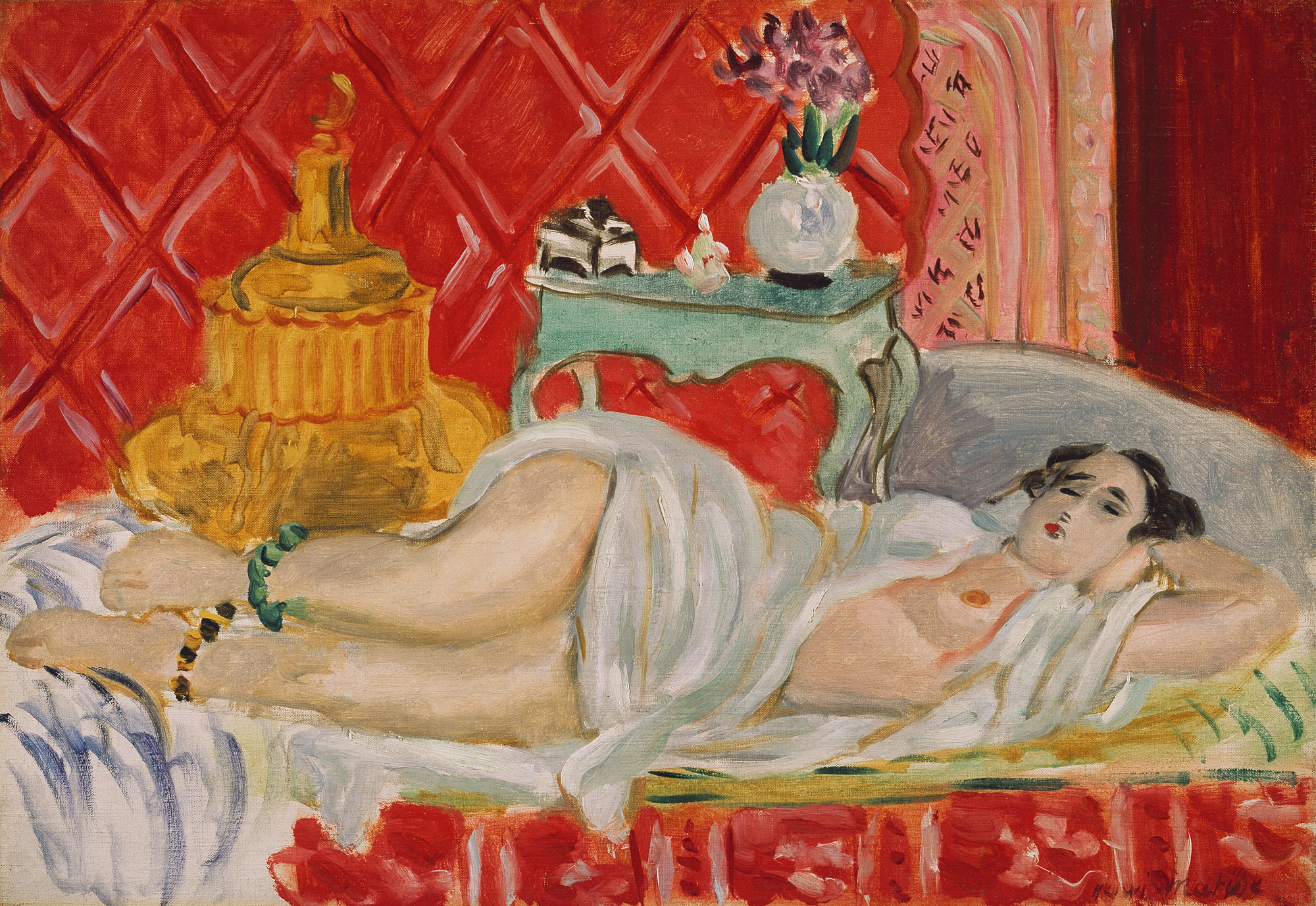 odalisque harmony in red henri matisse work of odalisque harmony in red